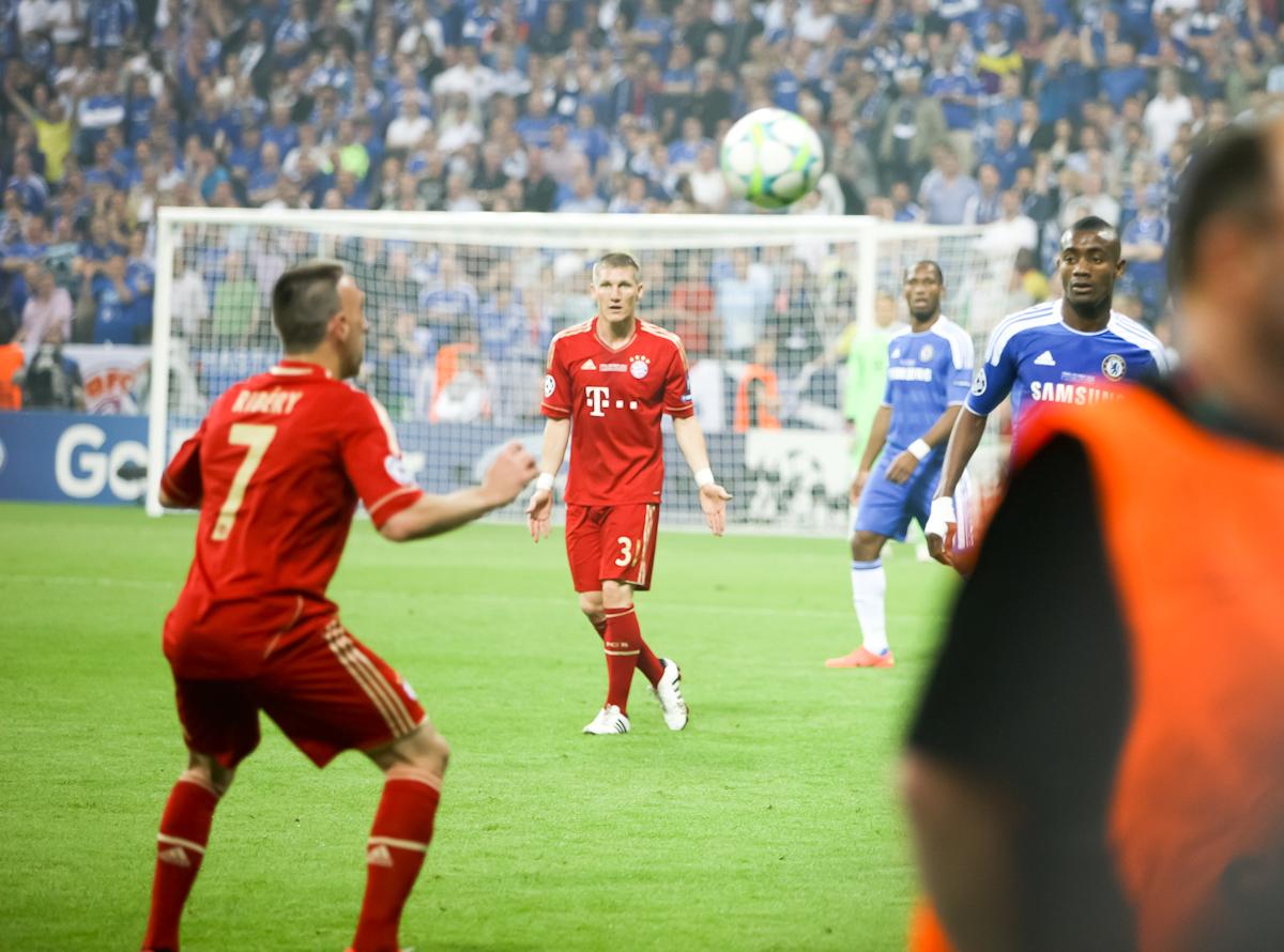 Il Bayern ammazza campionato in azione
