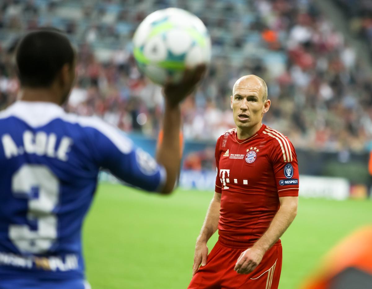 Robben al 100° gol in Bundesliga