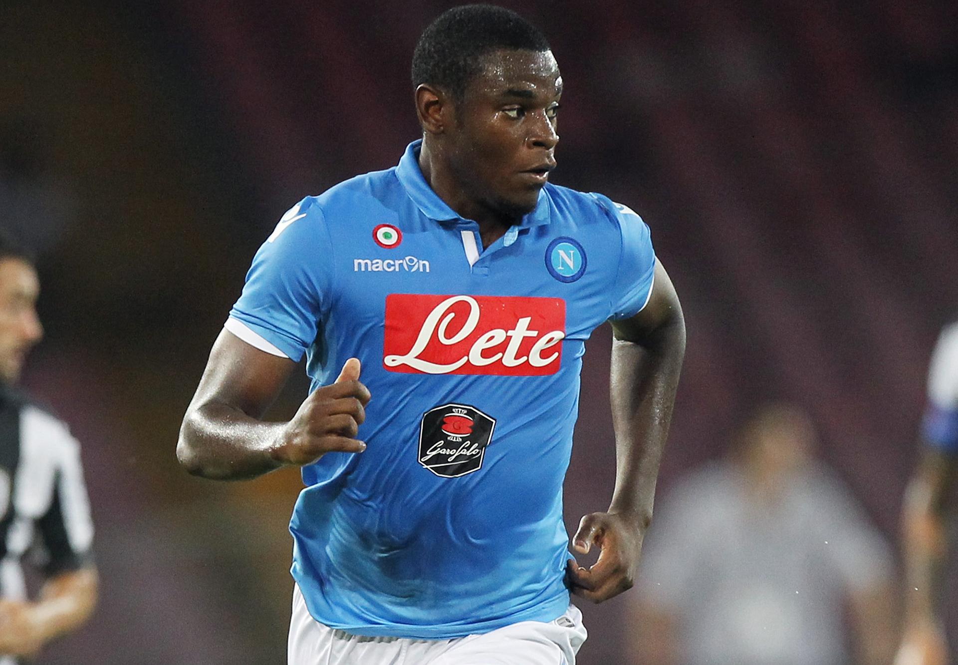 Zapata guiderà stasera l'attacco del Napoli contro il Sassuolo