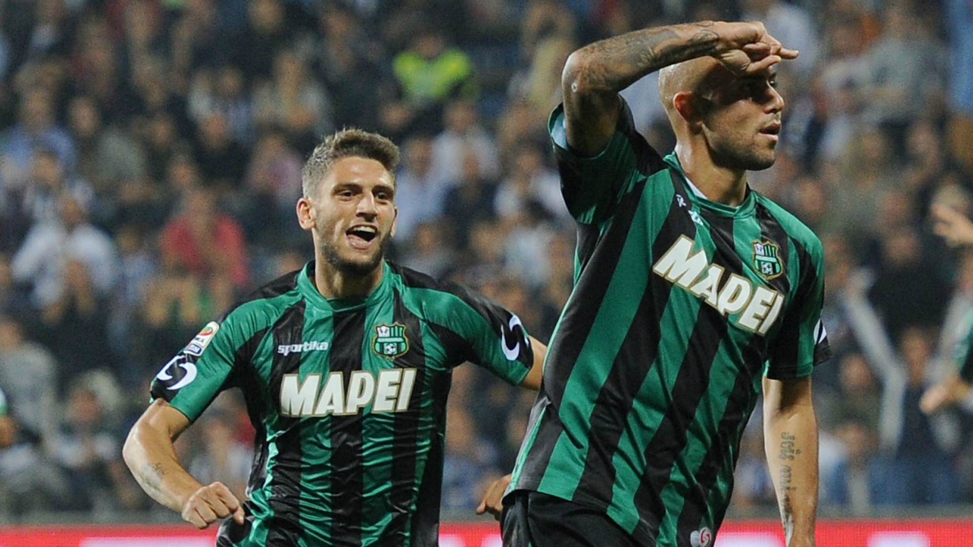 Zaza e Berardi guideranno l'attacco del Sassuolo stasera contro il Palermo