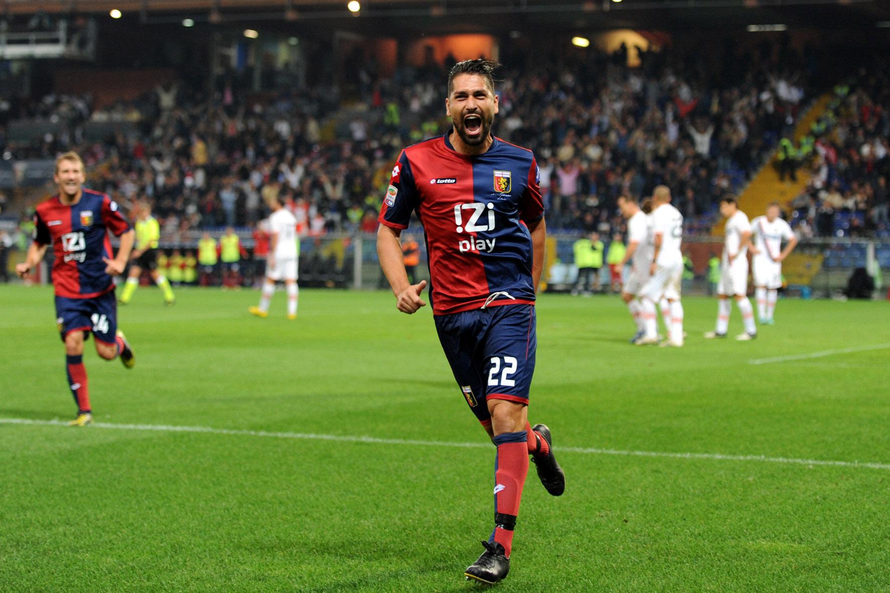 Rivedere Borriello con la maglia del Genoa? Per ora solo fantacalcio
