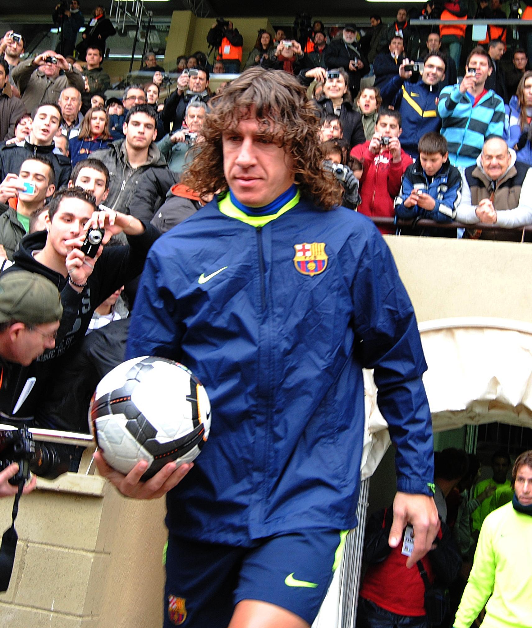 Puyol lascia Barcellona dopo una vita con i blaugrana
