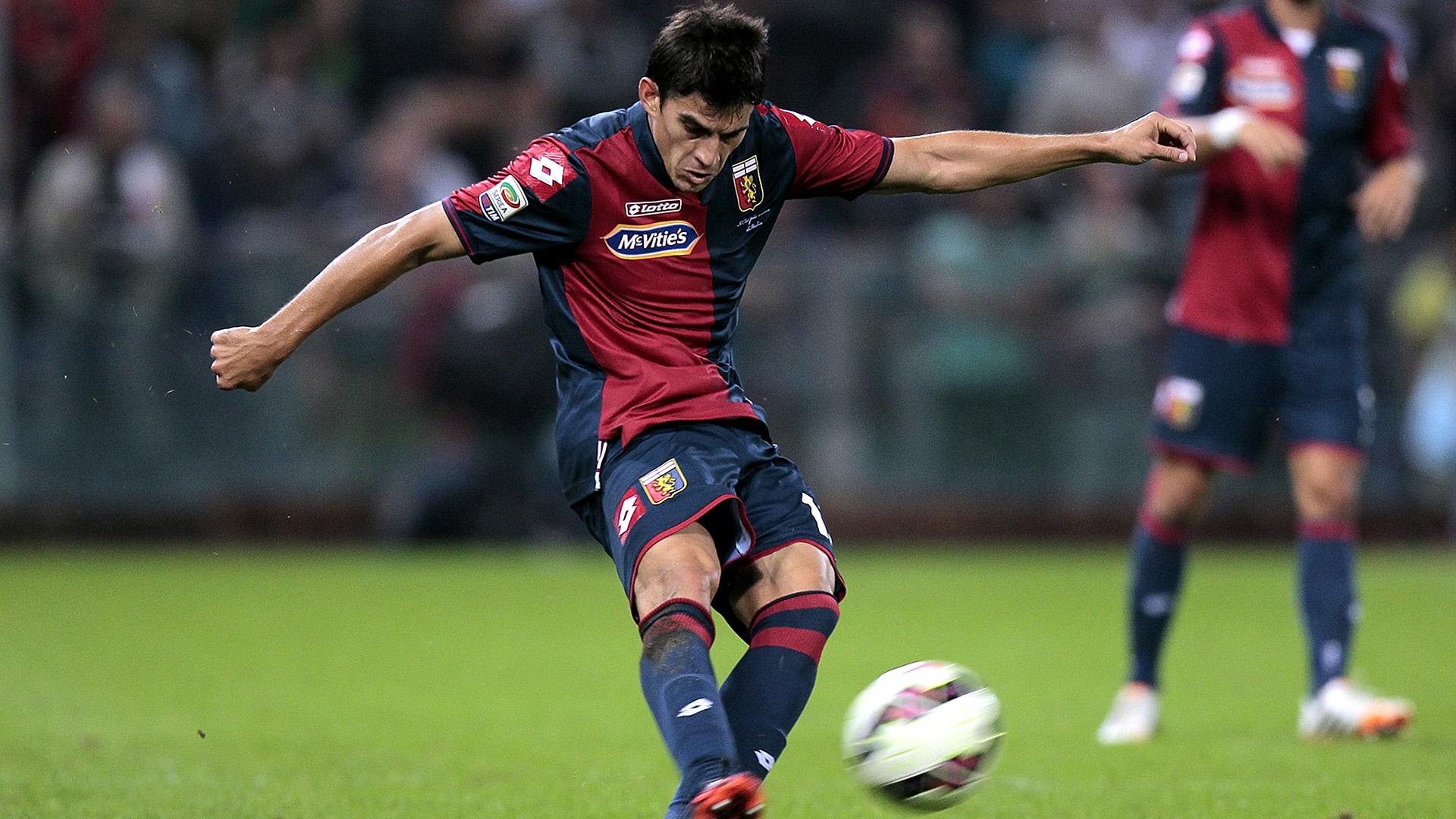 L'argentino Perotti regala i tre punti al Genoa in trasferta contro la Lazio