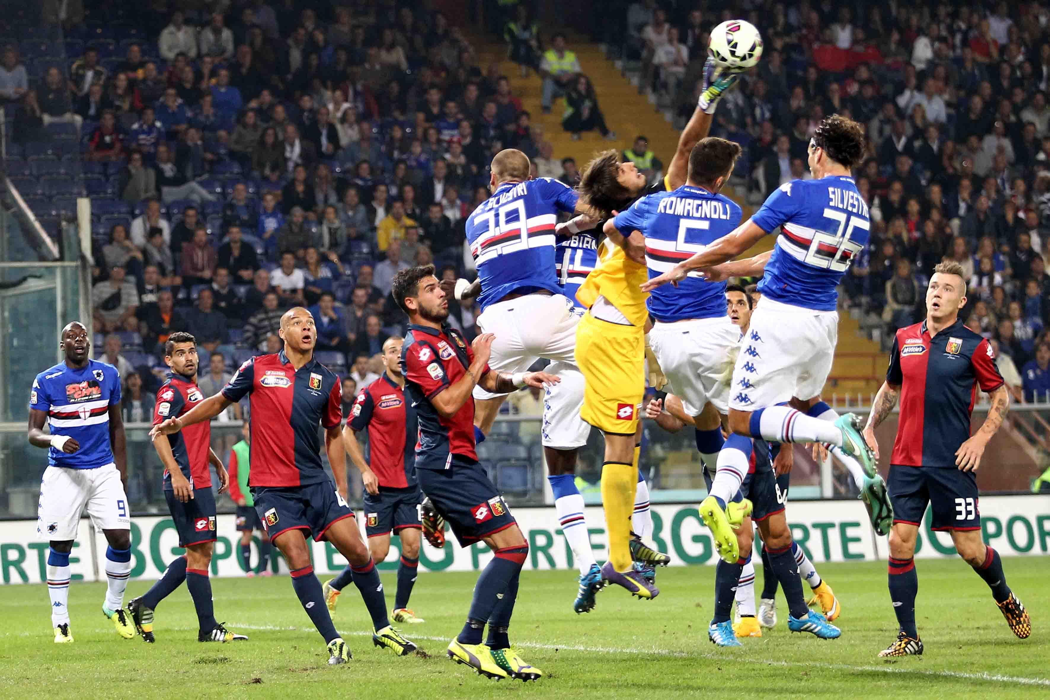 Fantacalcio: i voti della Gazzetta dello sport per Sampdoria Genoa. Perin +3, 7.5 a Muriel, bene Edenilson e Rigoni