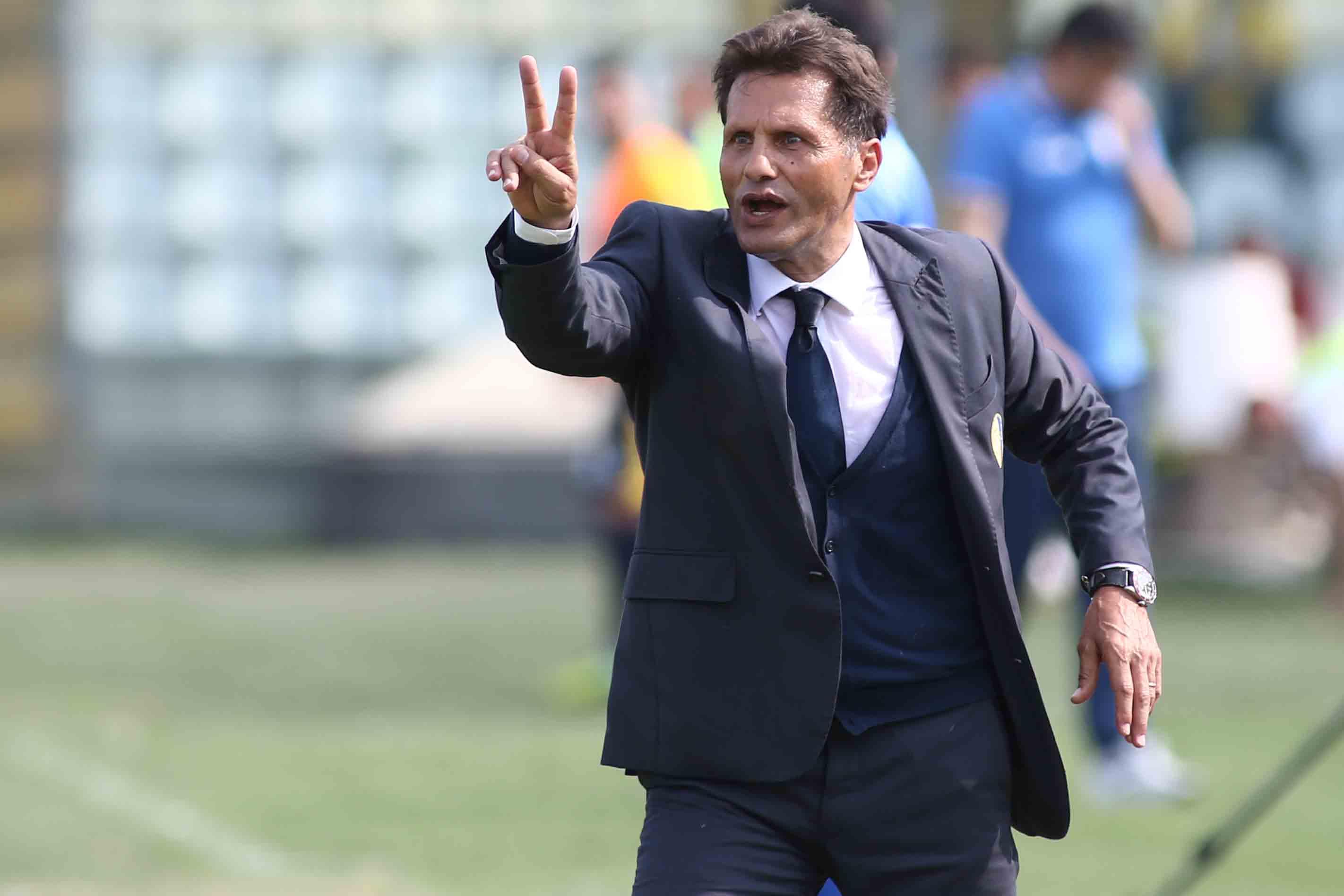 Il tecnico del Modena Novellino a rischio esonero dopo la sconfitta a Perugia