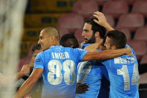 Obiettivo finale Europa League per il Napoli di Higuain e compagni