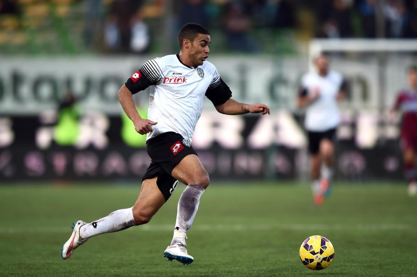 Defrel, attaccante francese del Cesena, è obiettivo di mercato del Torino