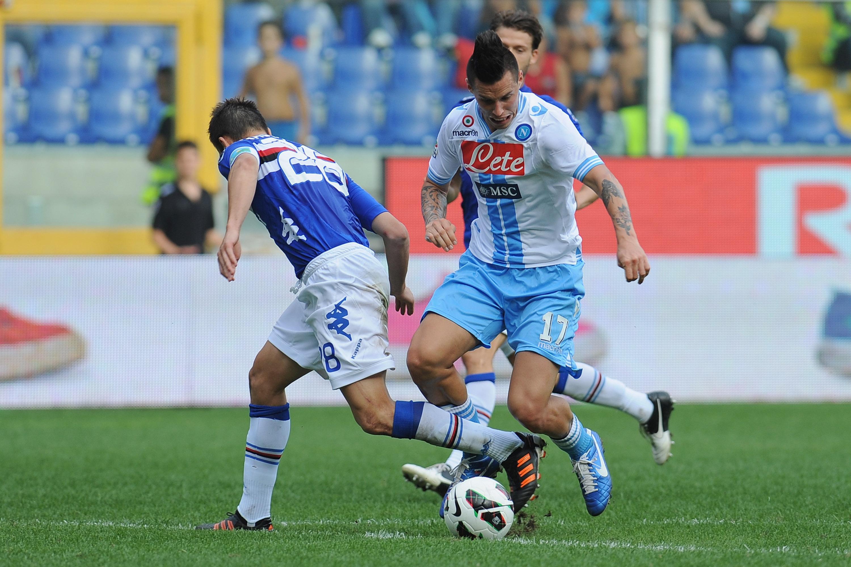 Precedenti, statistiche e curiosità di Napoli Sampdoria