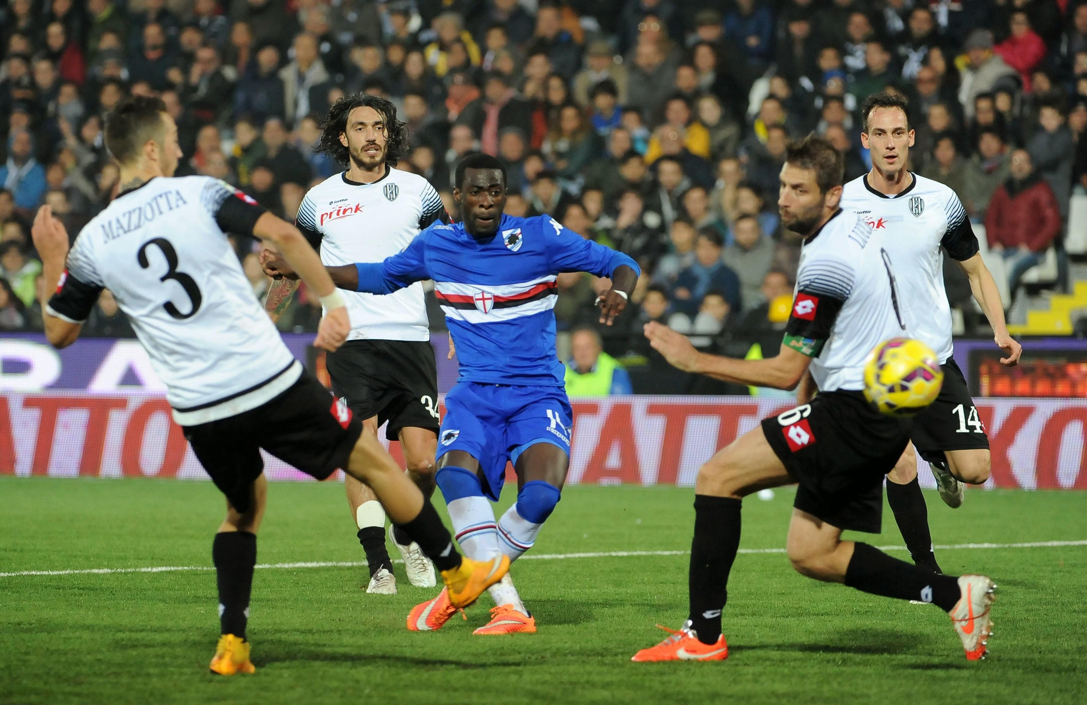 Sampdoria Cesena apre la 31° giornata di Serie A