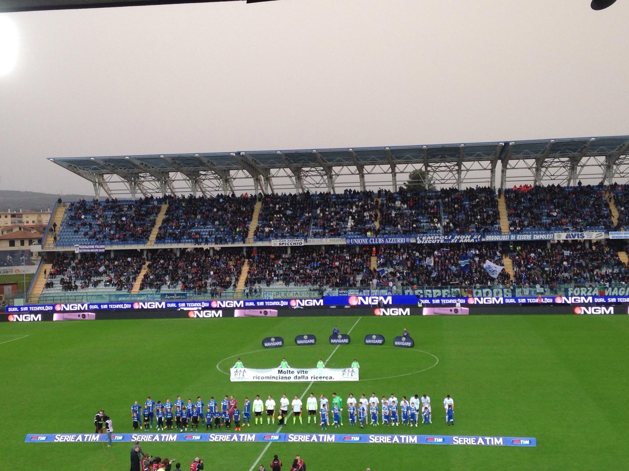 Le probabili formazioni di Atalanta Empoli, lunch match del turno di Serie A