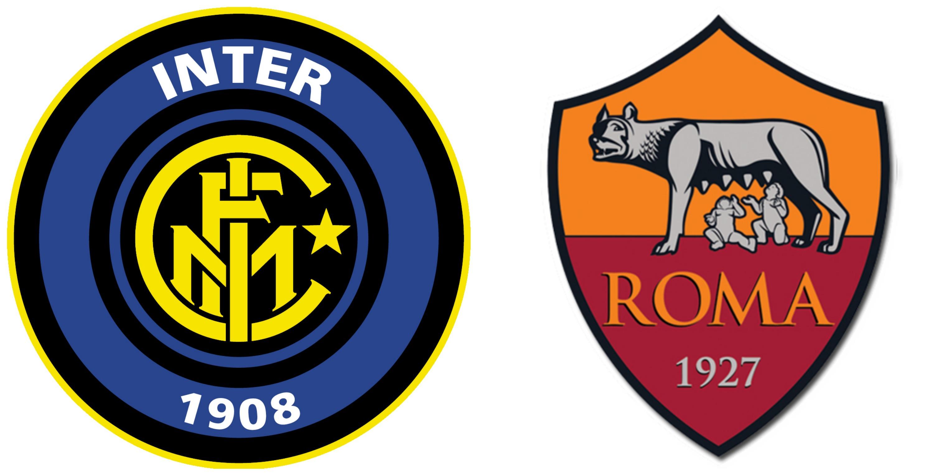 Inter Roma è il big match di questa giornata di Serie A