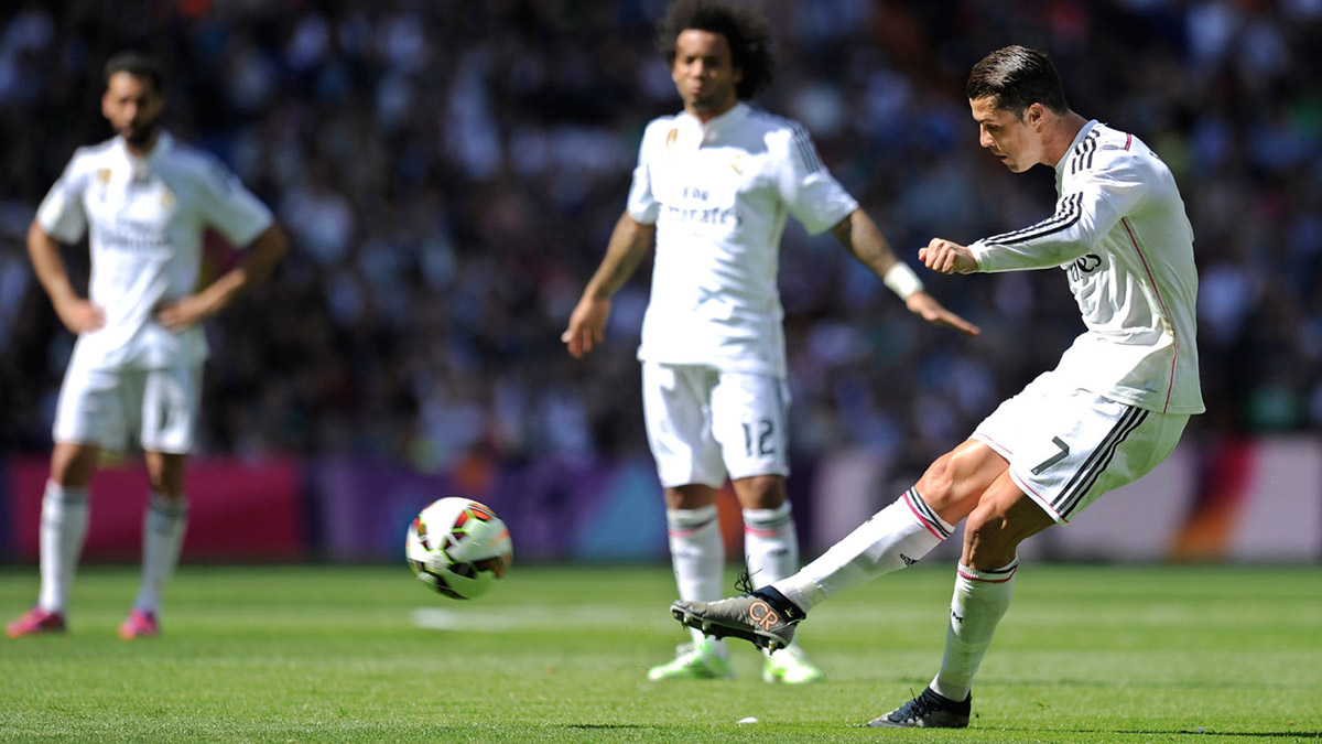 Ronaldo in Real-Eibar
