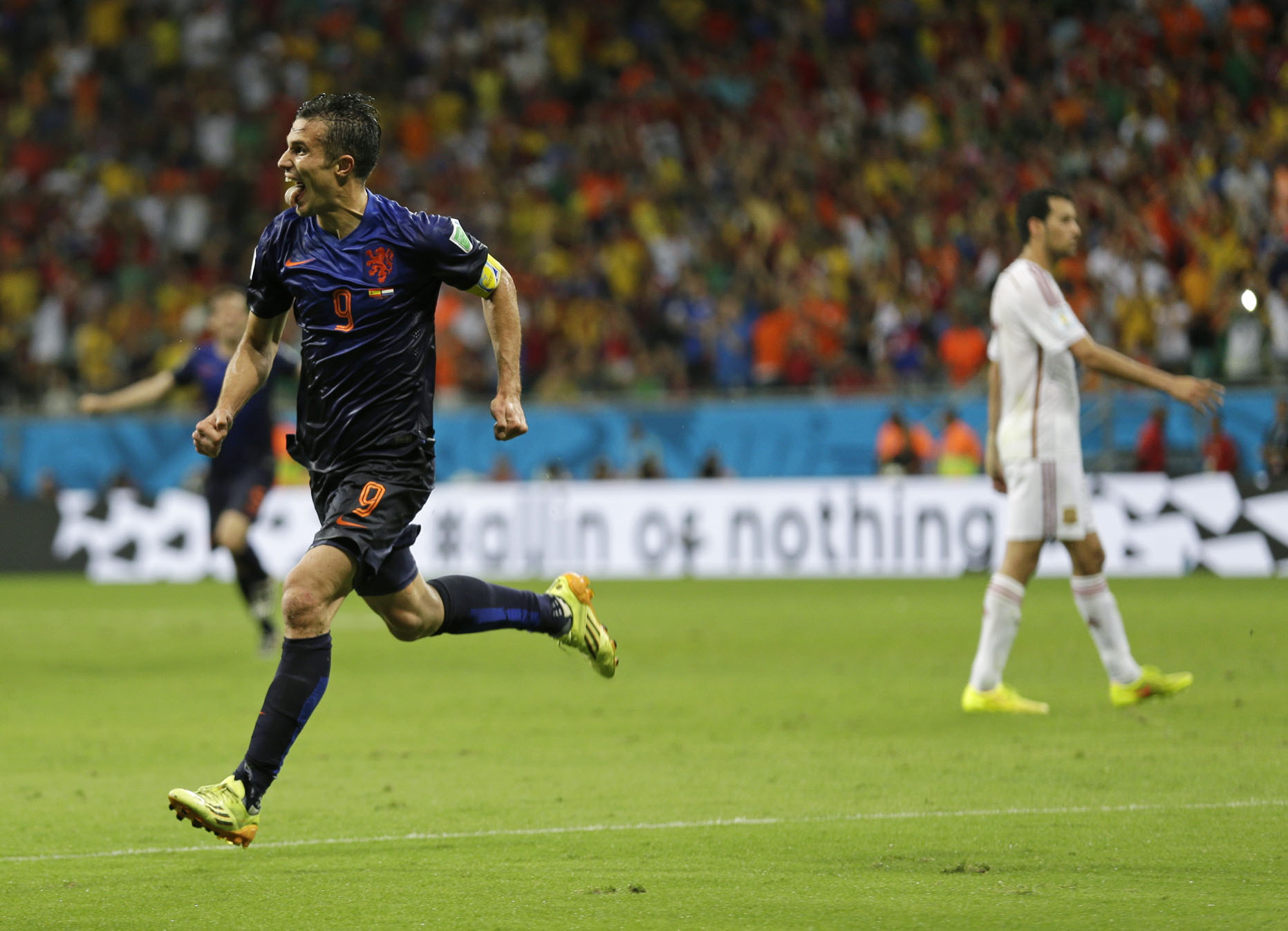 Spagna vs. Olanda - Mondiali di Calcio Brasile 2014
