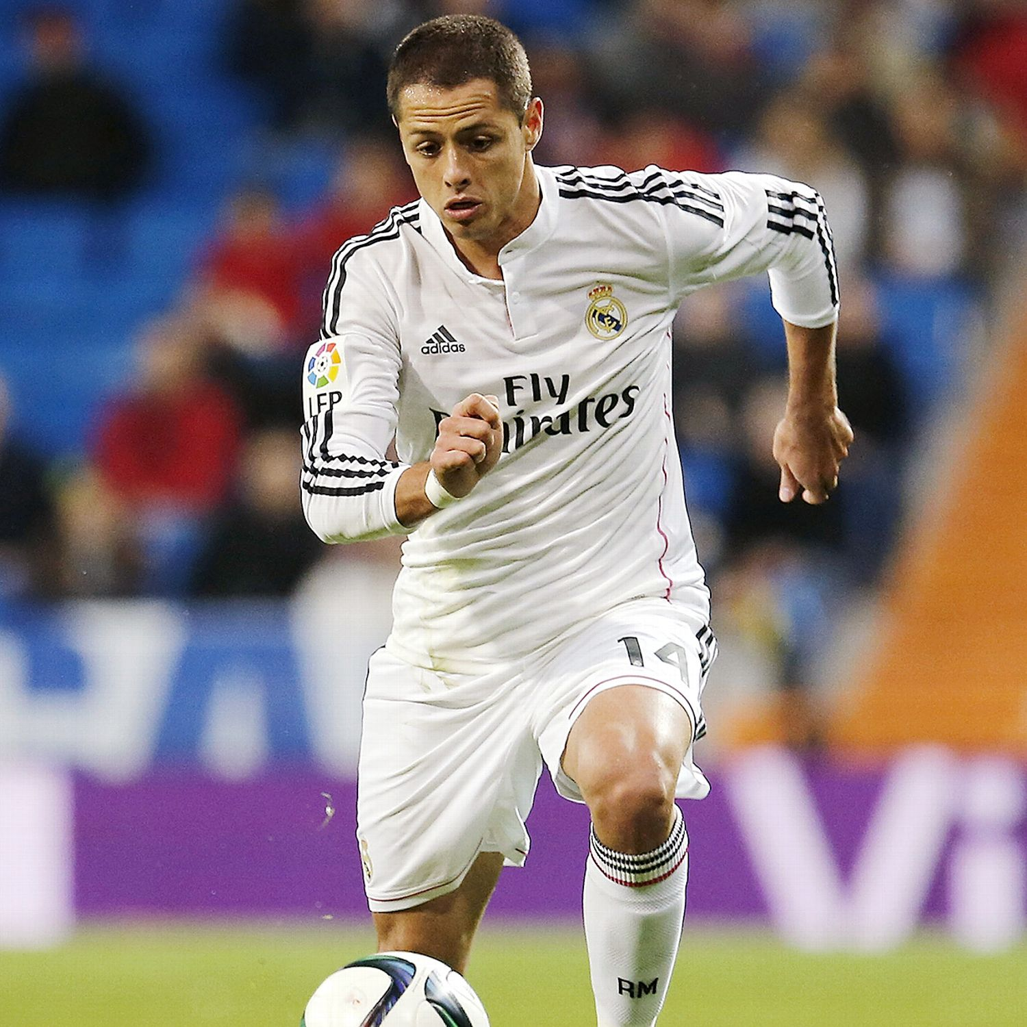 Il Chicharito Hernandez decide a favore del Real il derby spagnolo di Champions League con l'Atletico
