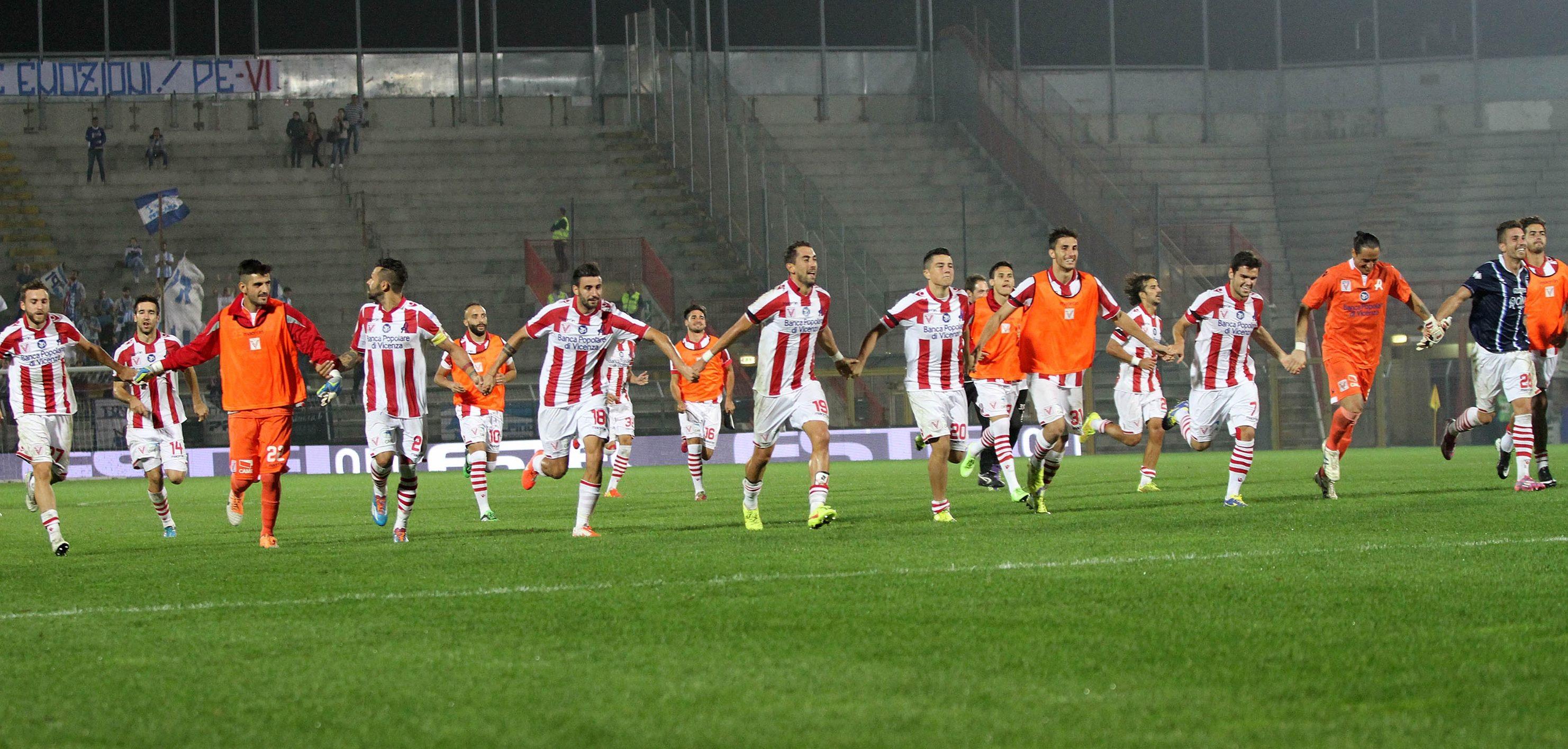 Vicenza batte Cittadella 1-0 e dopo il derby Veneto vola al secondo posto