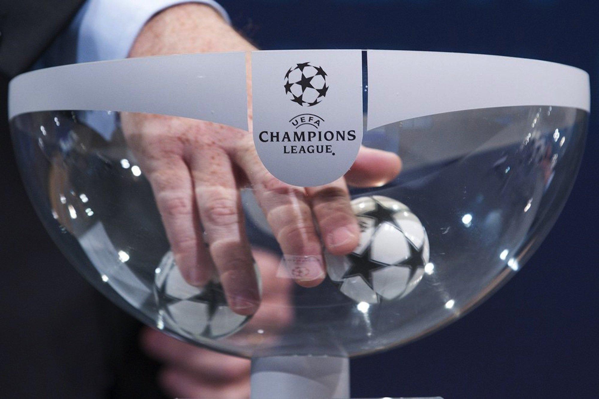 L'esito dell'urna di Nyon: Juventus-Real Madrid e Barcellona-Bayern