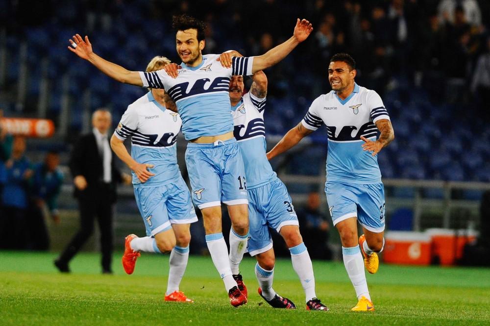 Lazio vs Parma campionato calcio serie a 2014-2015
