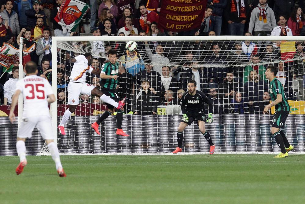 Soccer: Serie A; Sassuolo-Roma