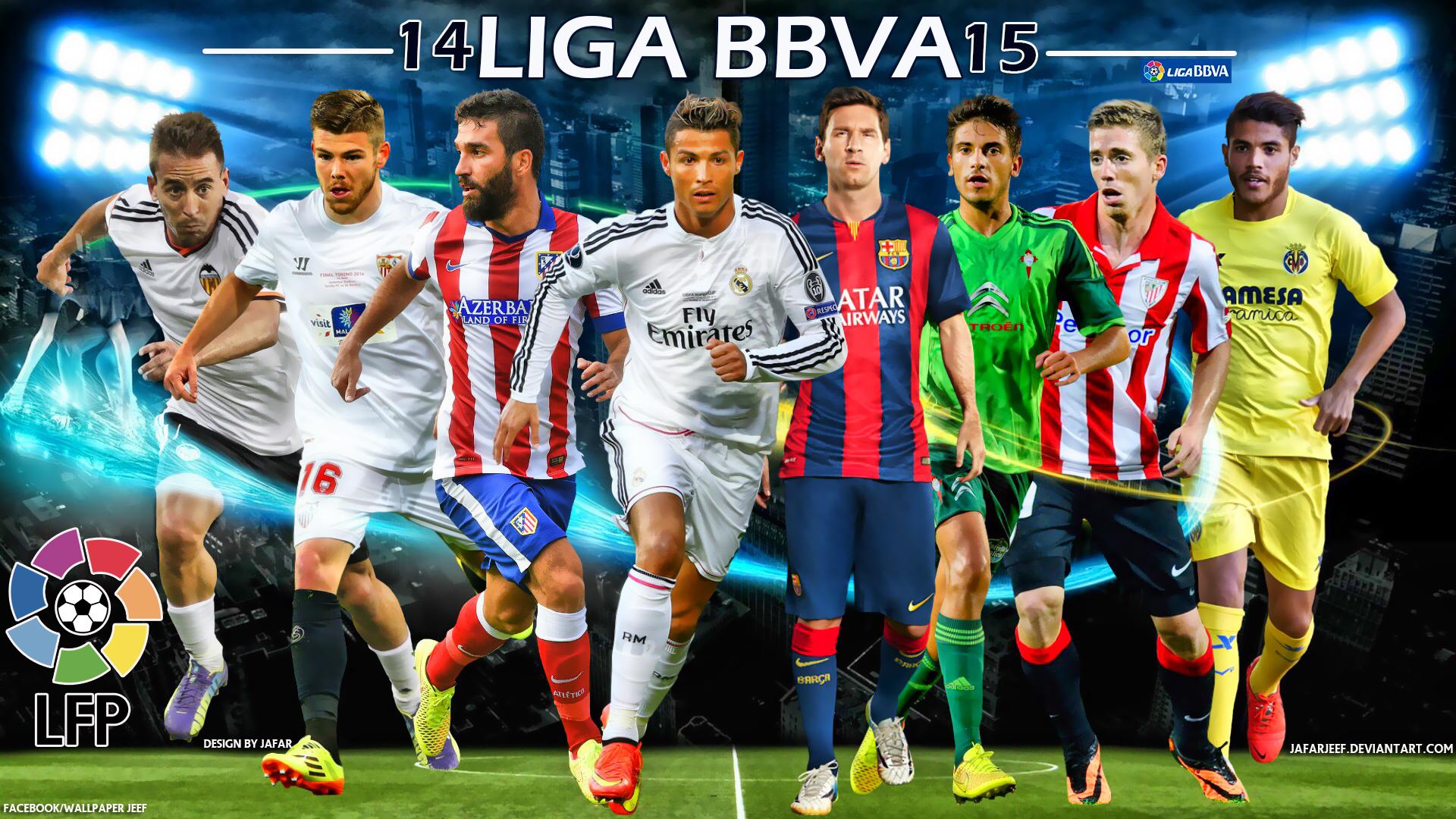 Liga-BBVA-2014-2015-Football-Stars-Wallpaper