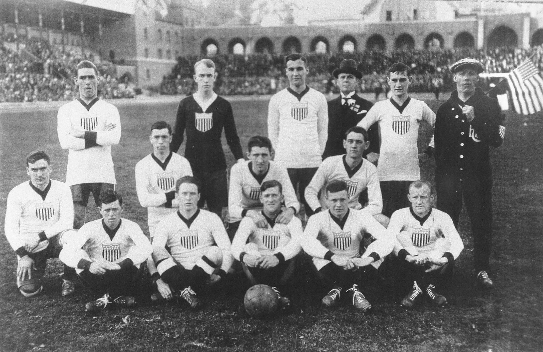 U.S. soccer team 1916