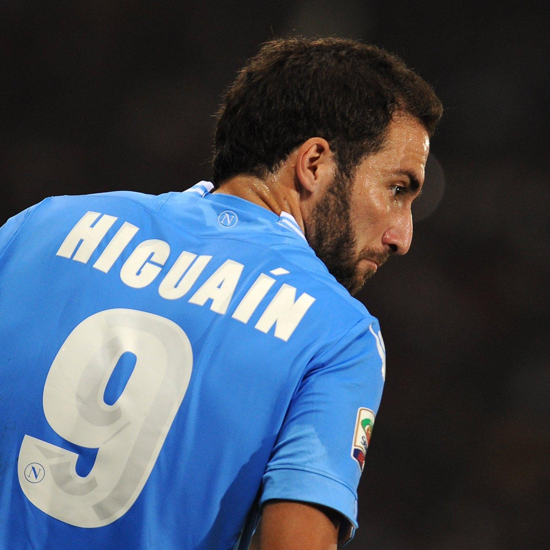 Delusione Higuain Napoli