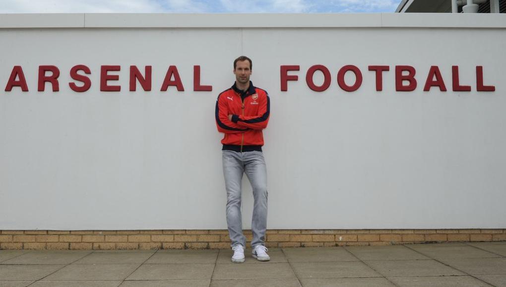 Cech all'Arsenal