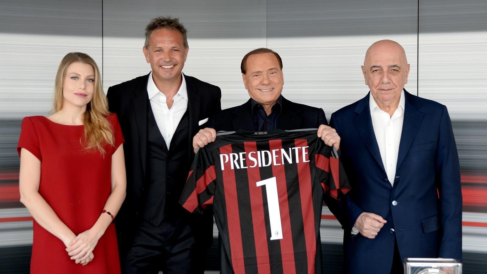 Berlusconi e Mihajlovic