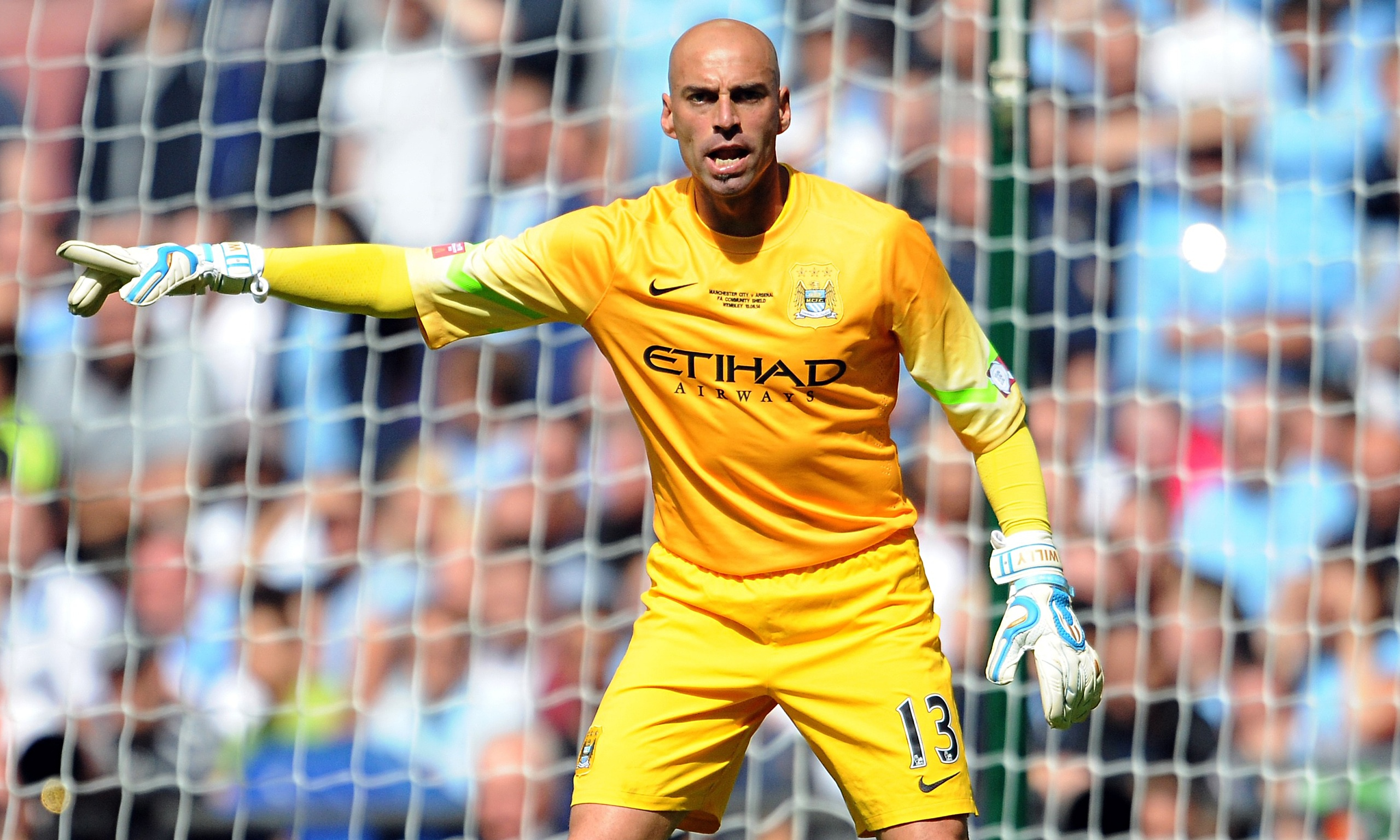 Willy Caballero, Manchester City goalkeeper