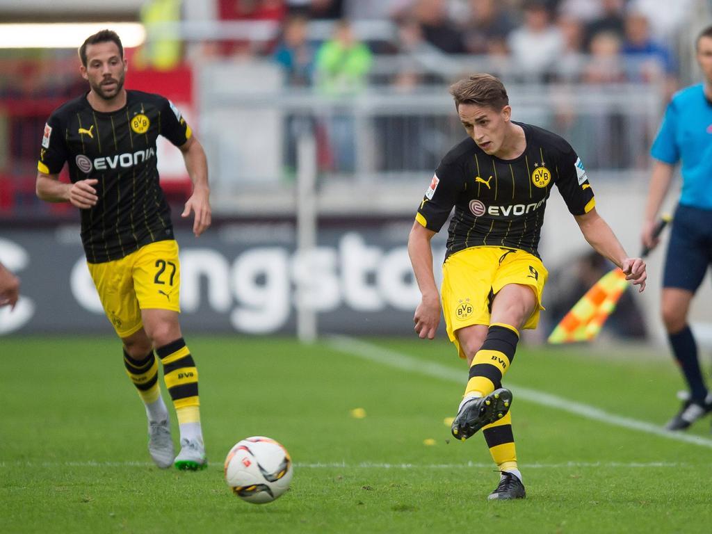 Dienstag 08 09 2015 Saison 2015 2016 Testspiel in Hamburg FC St Pauli BV Borussia Dortmund Ad