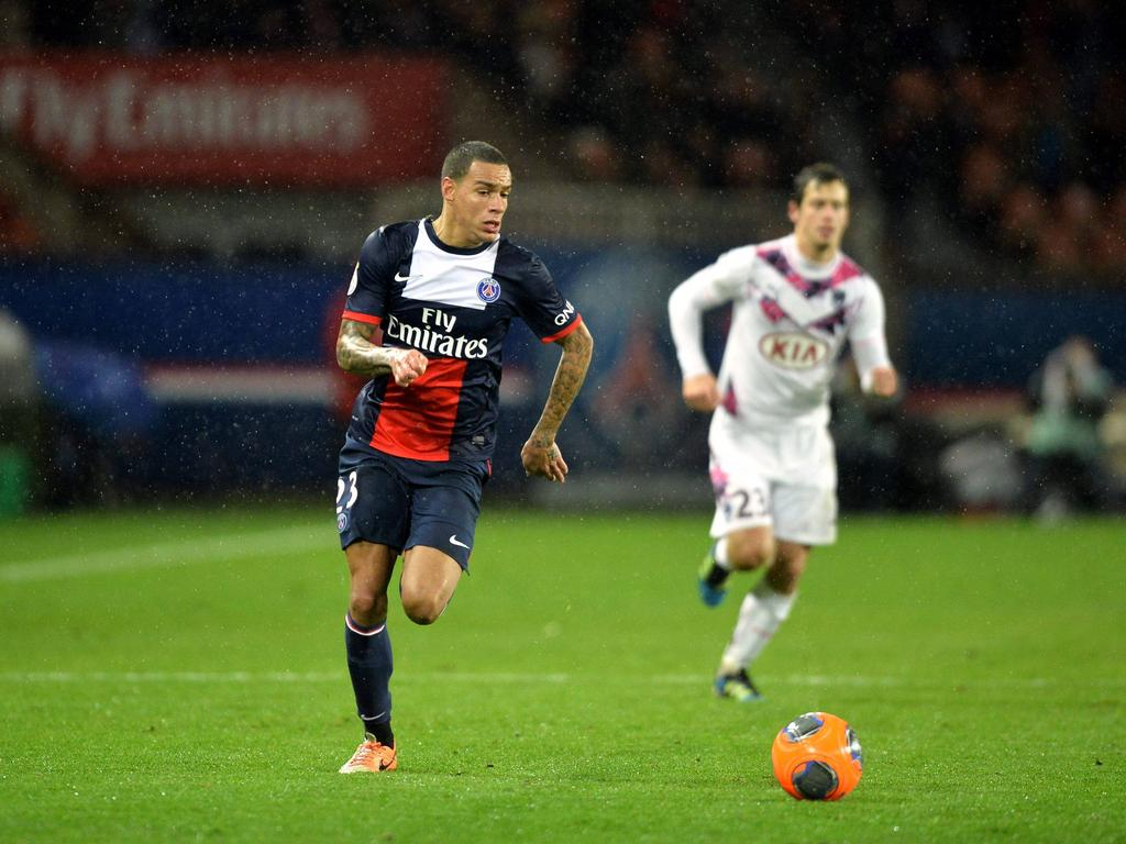 Gregory Van der Wiel psg FOOTBALL Paris SG vs Bordeaux Ligue 1 31 01 2014 AnthonyBIBARD FEP