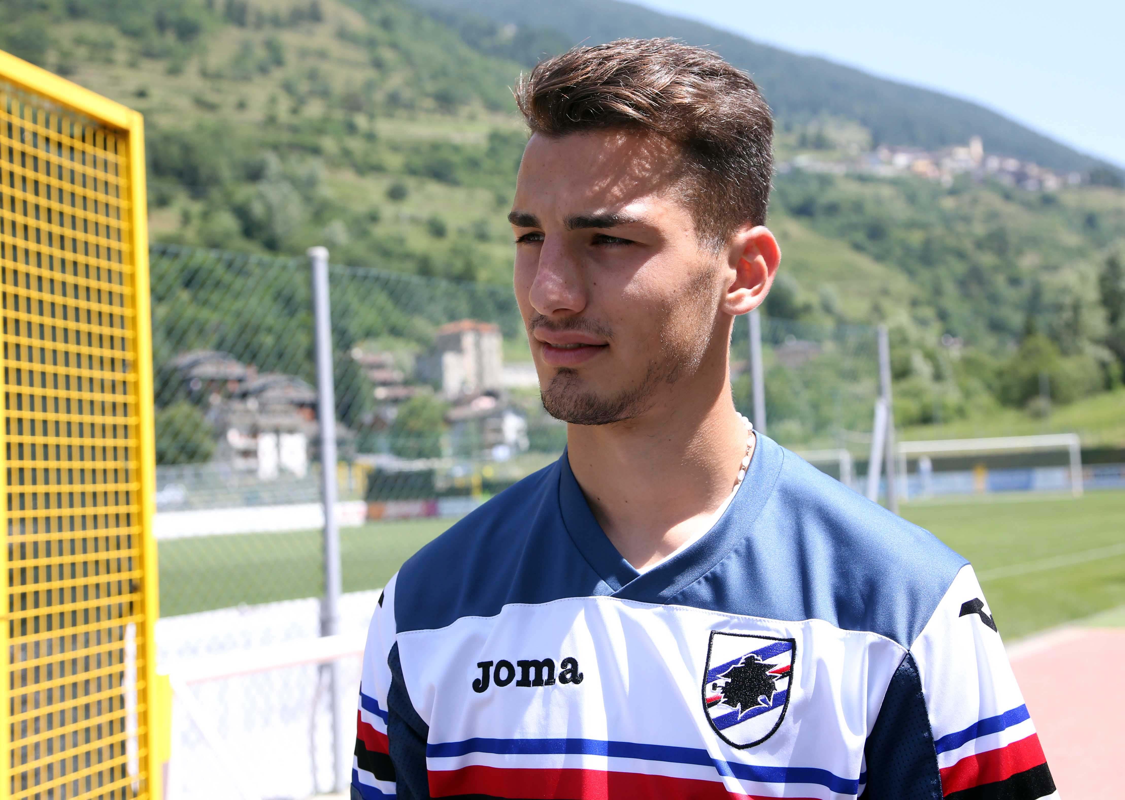 ritiro Sampdoria a Temu