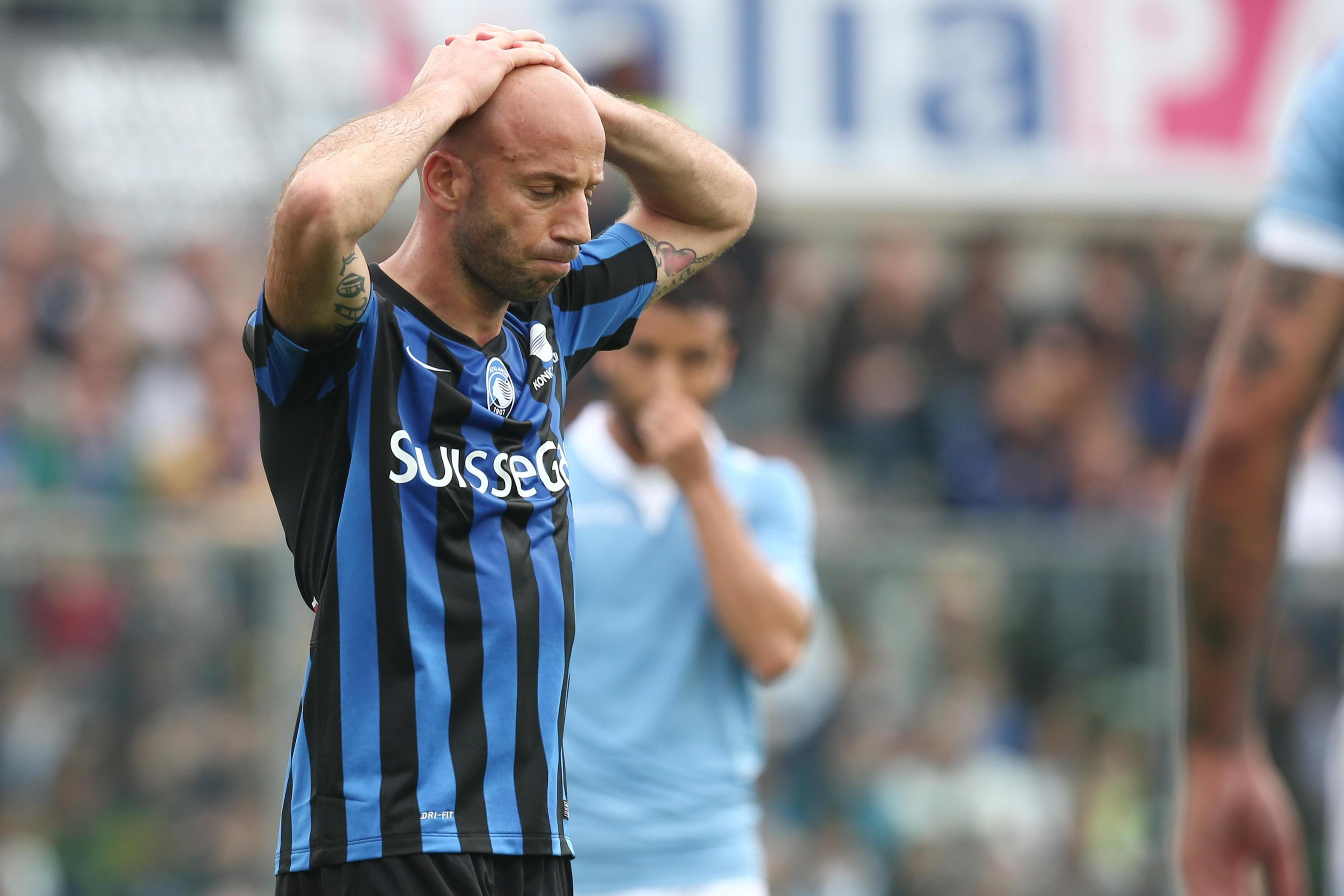 Soccer: Serie A; Atalanta-Lazio