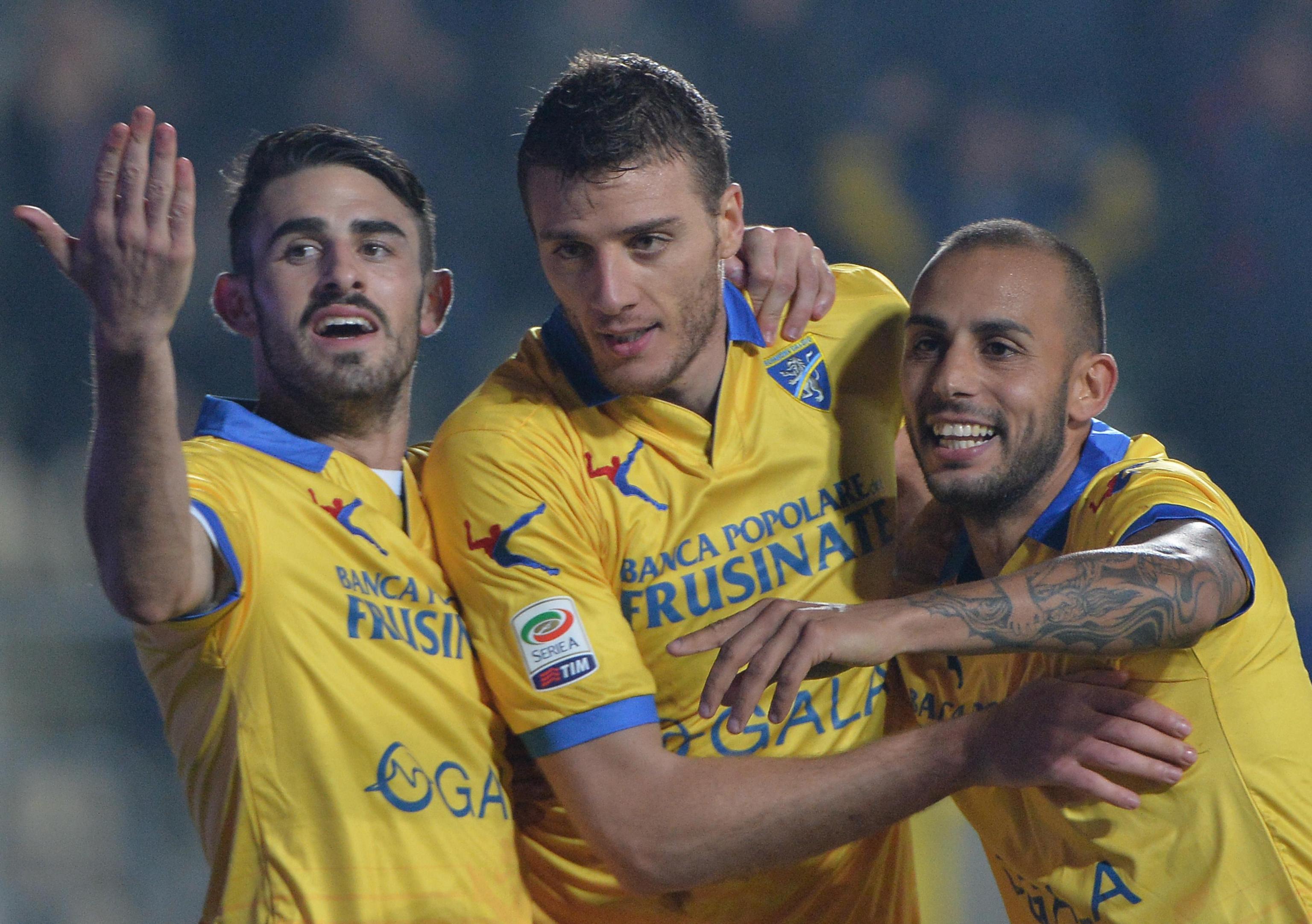 Soccer:Italian Serie A; Frosinone vs Carpi