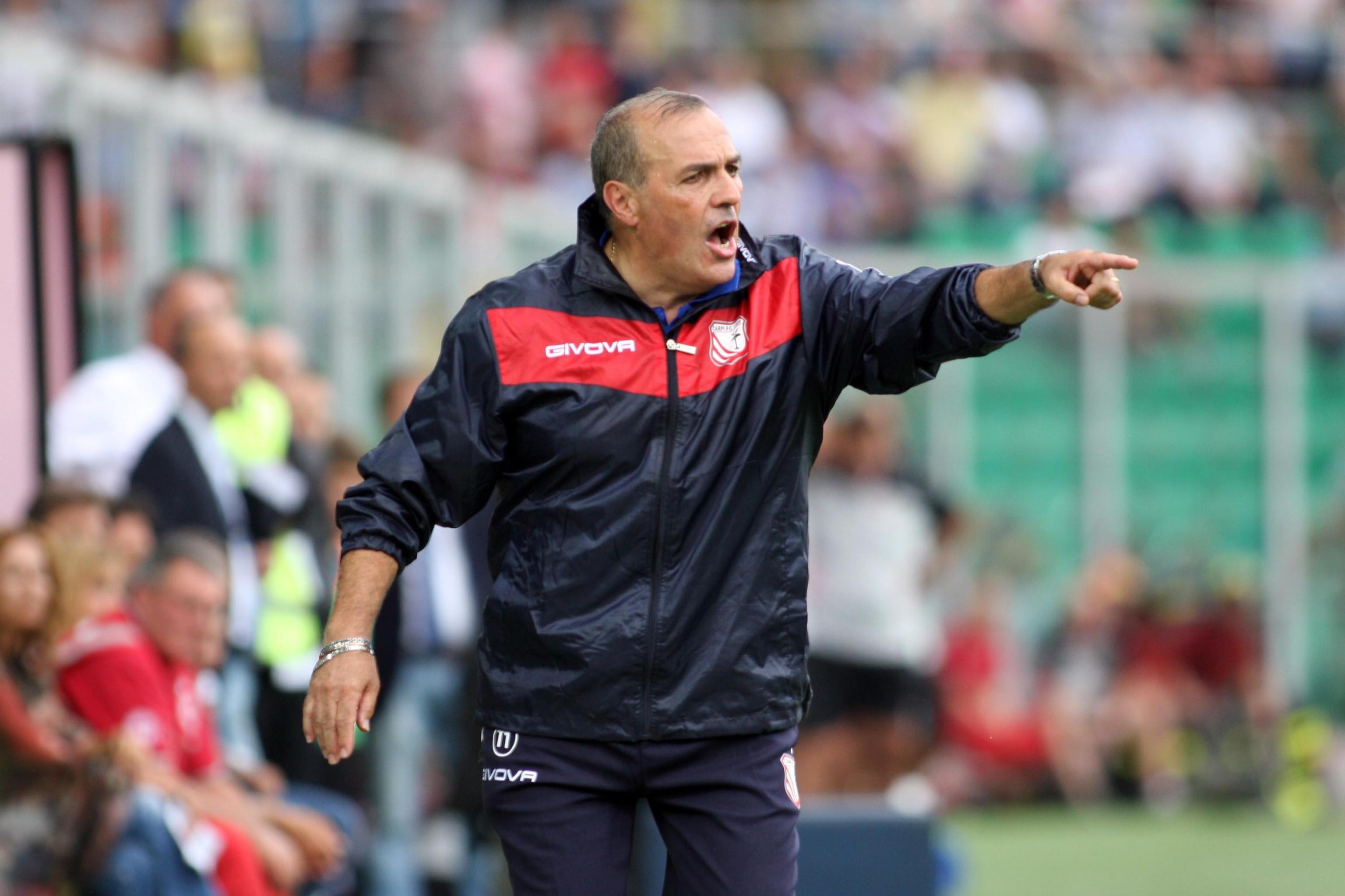 Soccer: Serie A; Palermo-Carpi
