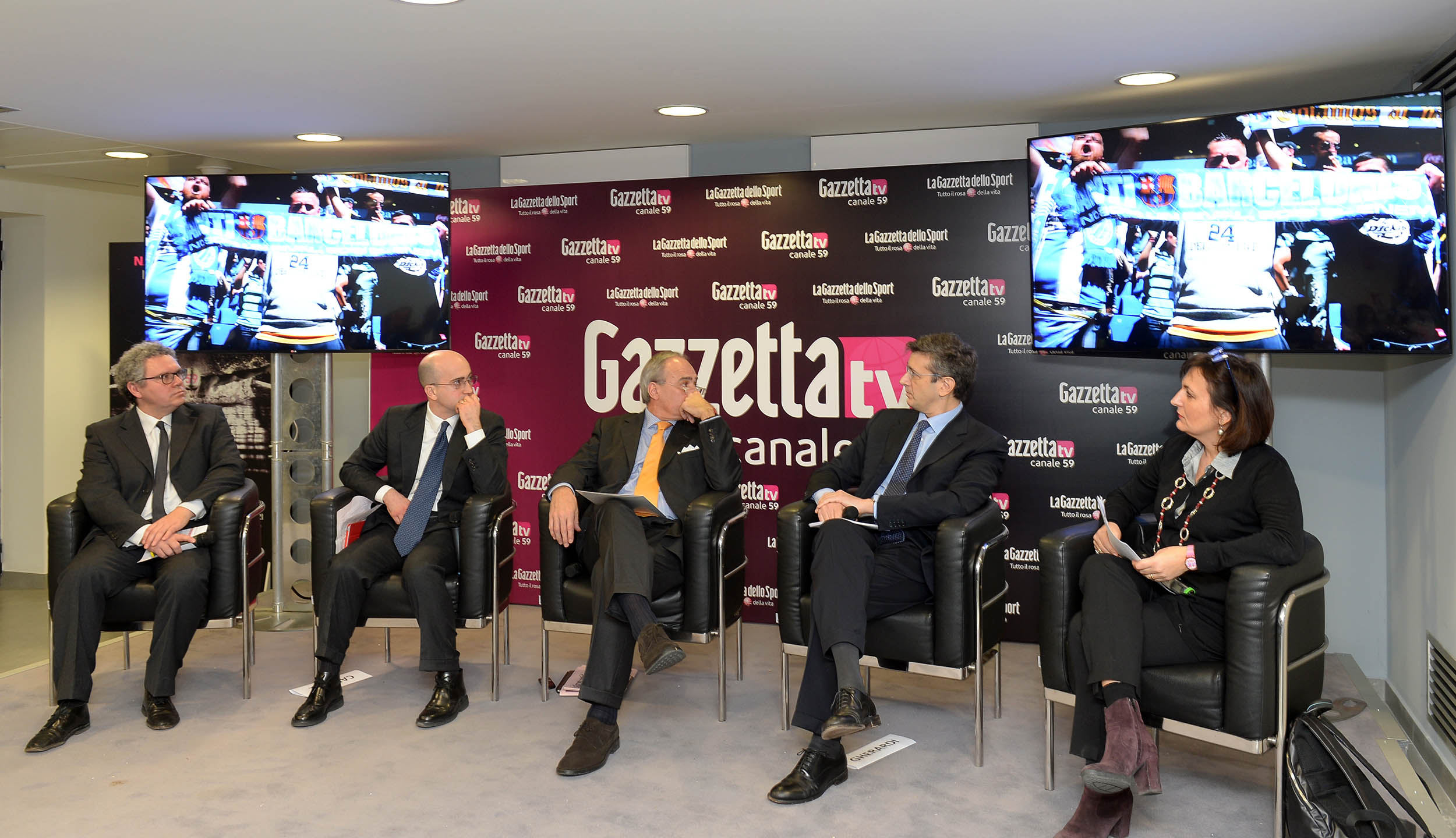 CONFERENZA STAMPA GAZZETTA TV