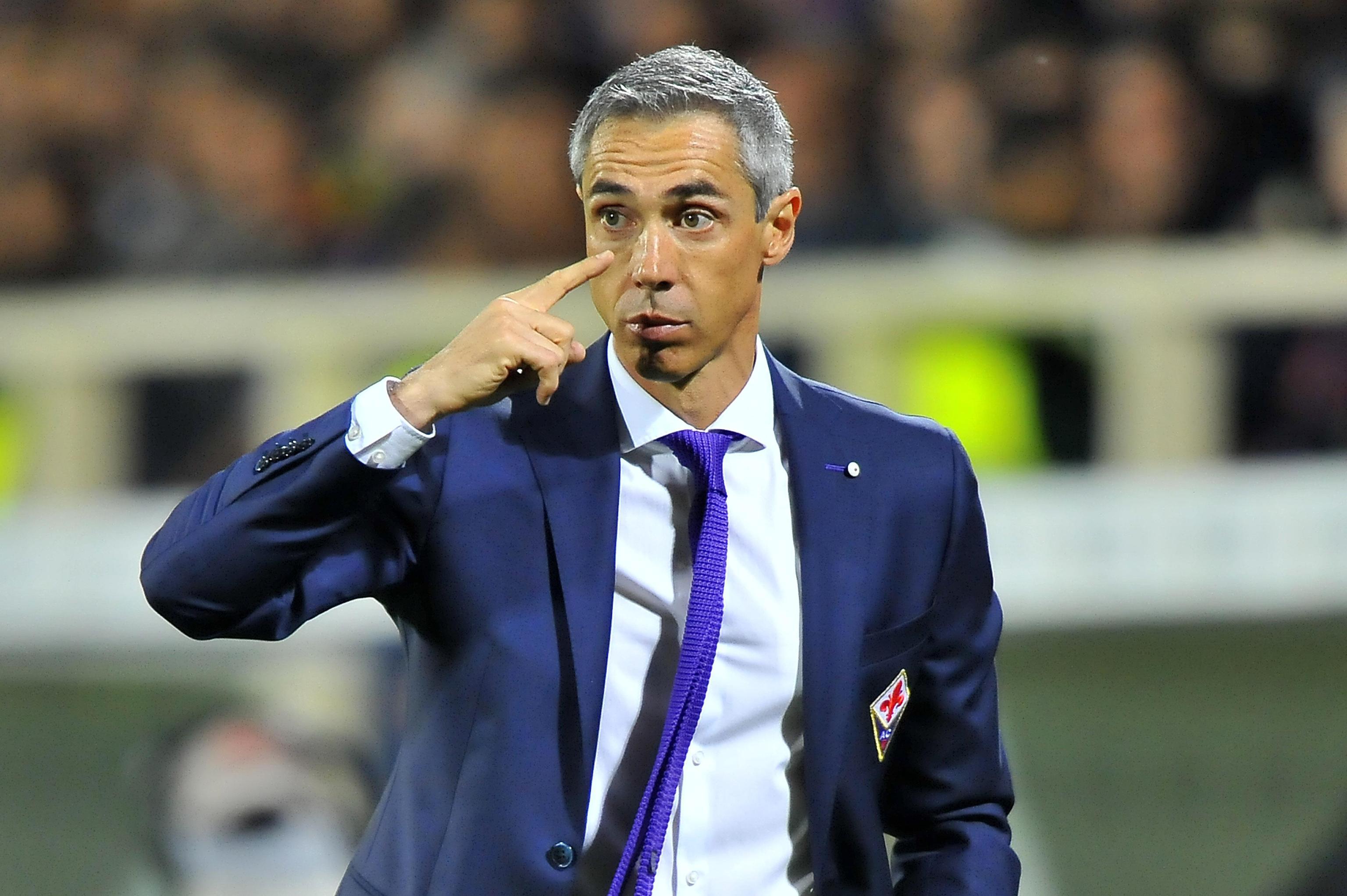 Soccer: serie A, Fiorentina-Roma