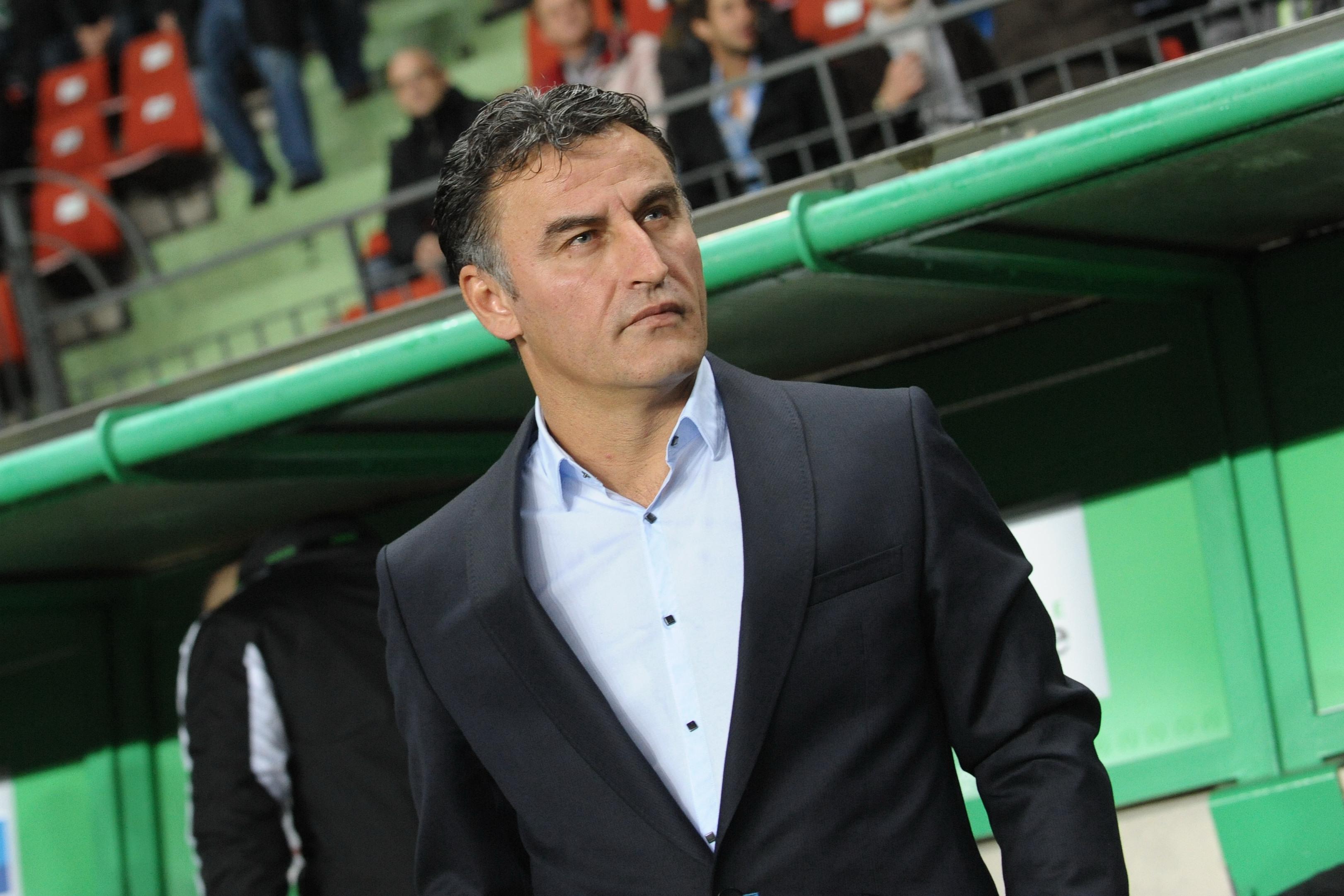 FOOTBALL : SAINT ETIENNE vs TROYES - Ligue 1 - 10/11/2012