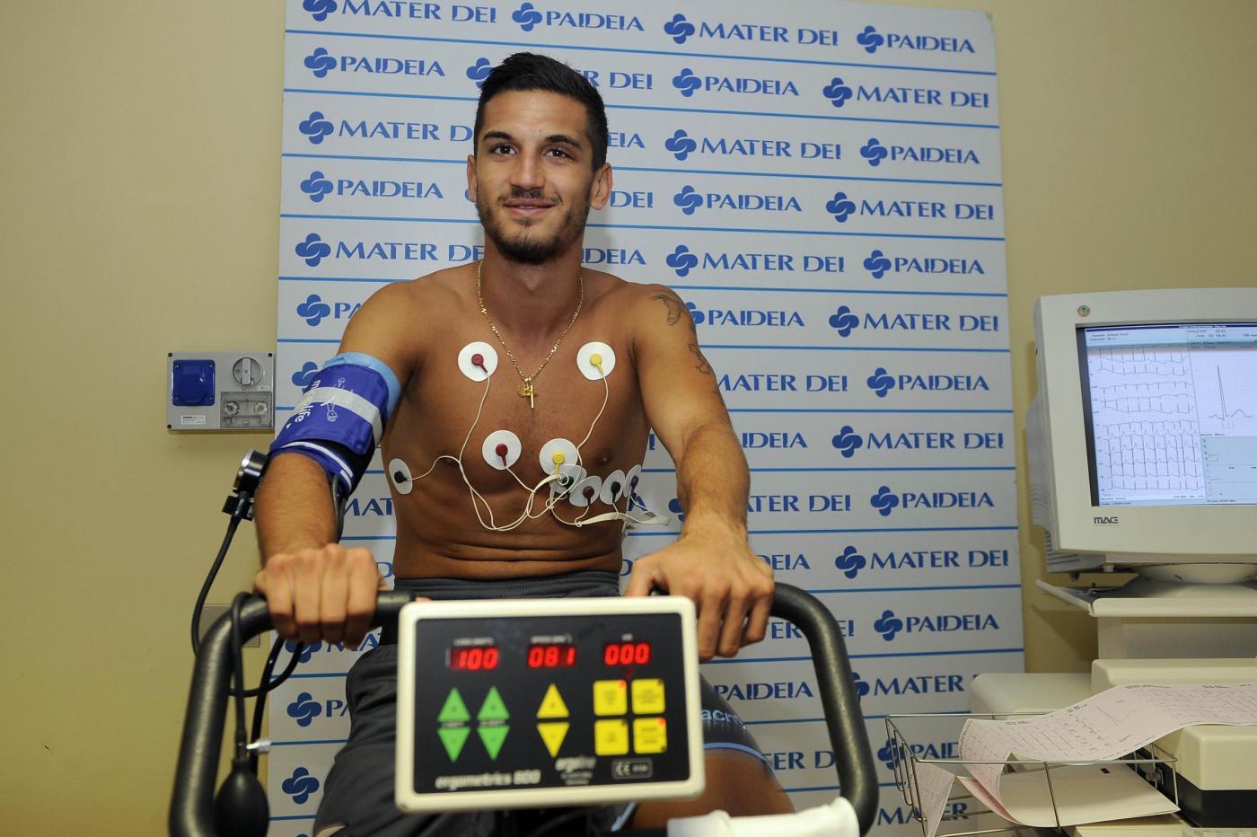 Visite Mediche giocatori S.S. Lazio alla Clinica Paideia di Roma