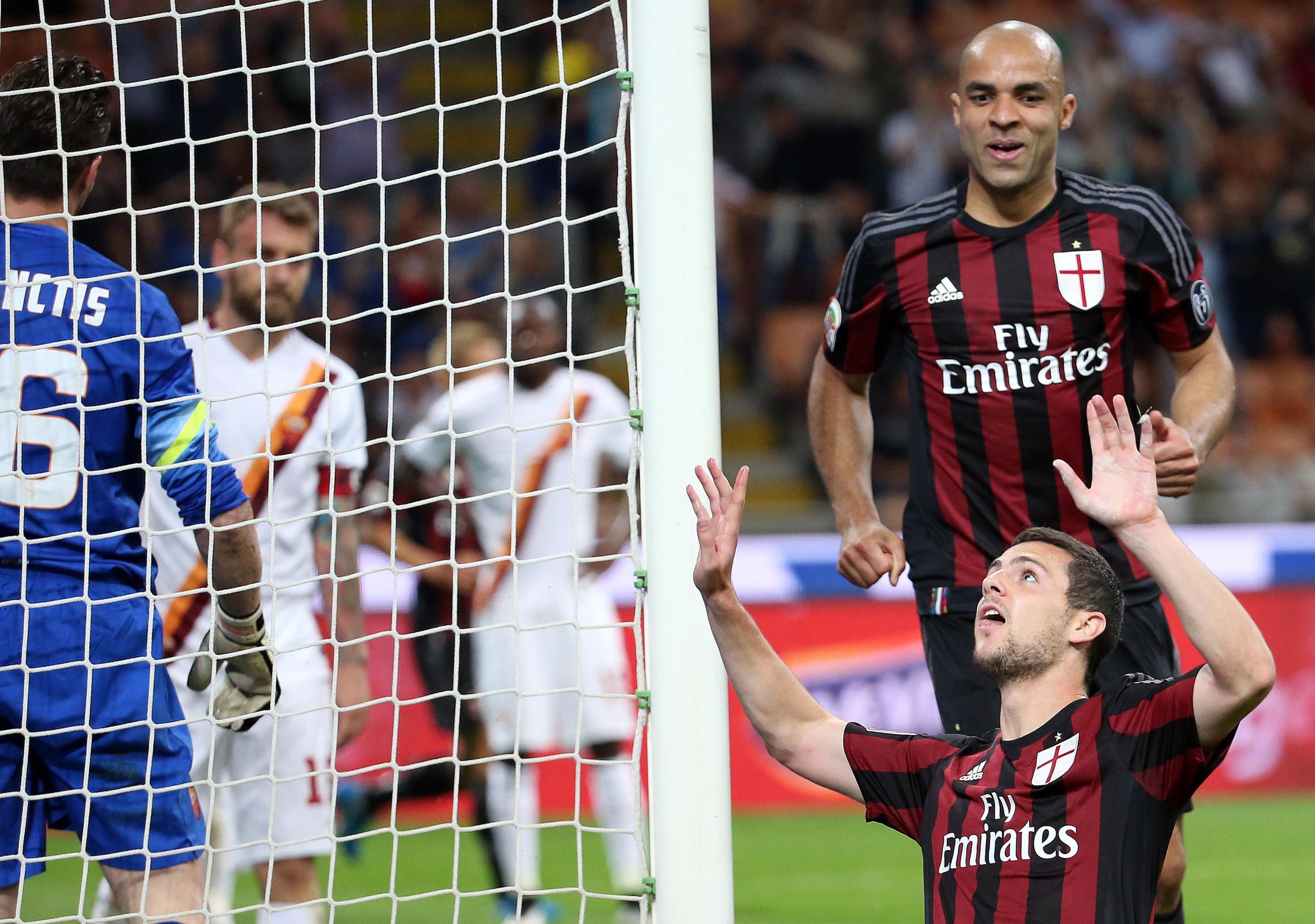 Soccer: Serie A; Milan-Roma