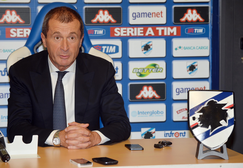 Calcio: Samp; intesa con Montella, Osti tratta con Fiorentina