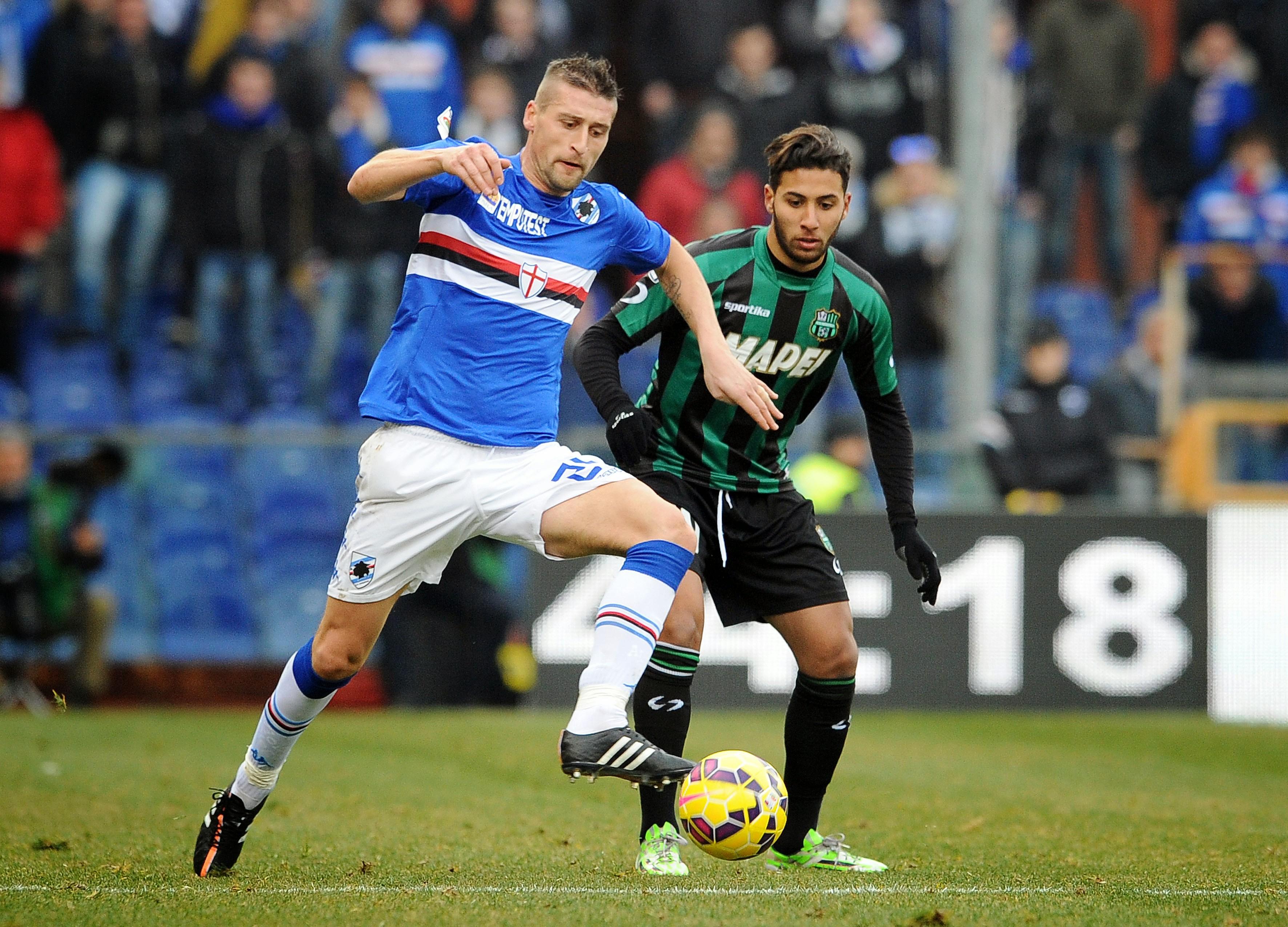 Genova, 08/02/2015Serie A/Sampdoria-SassuoloAndrea Coda-Saphir Taider