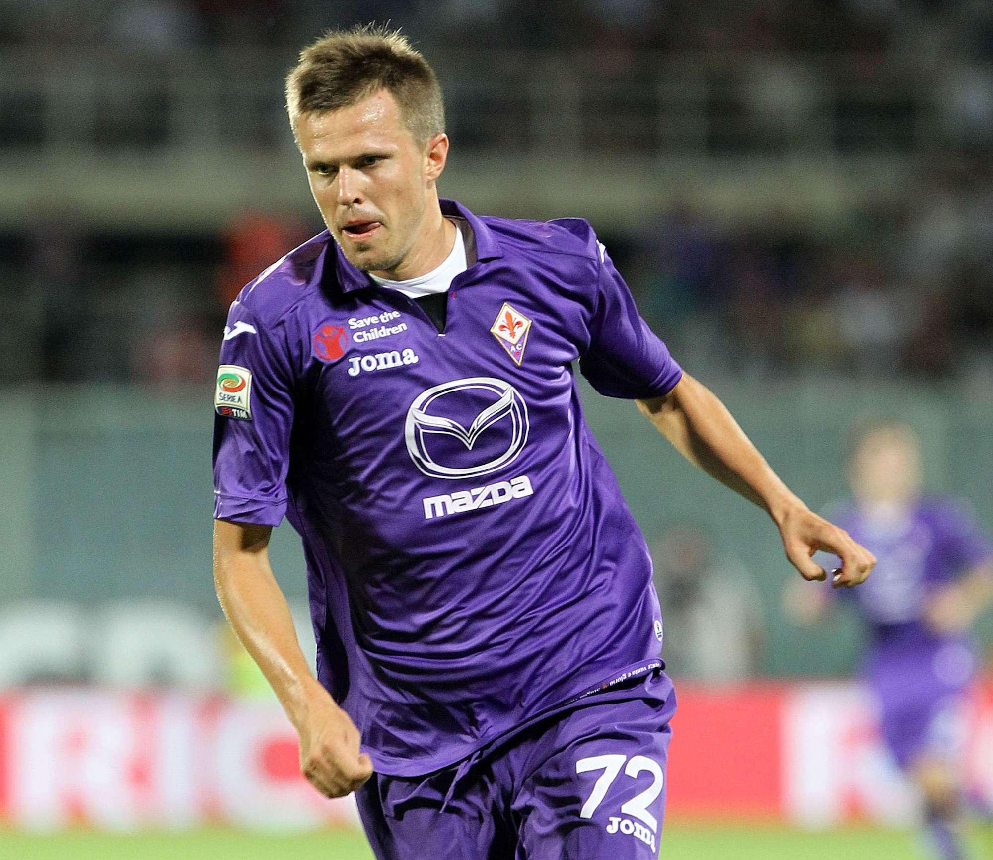 Fiorentina-Catania serie A