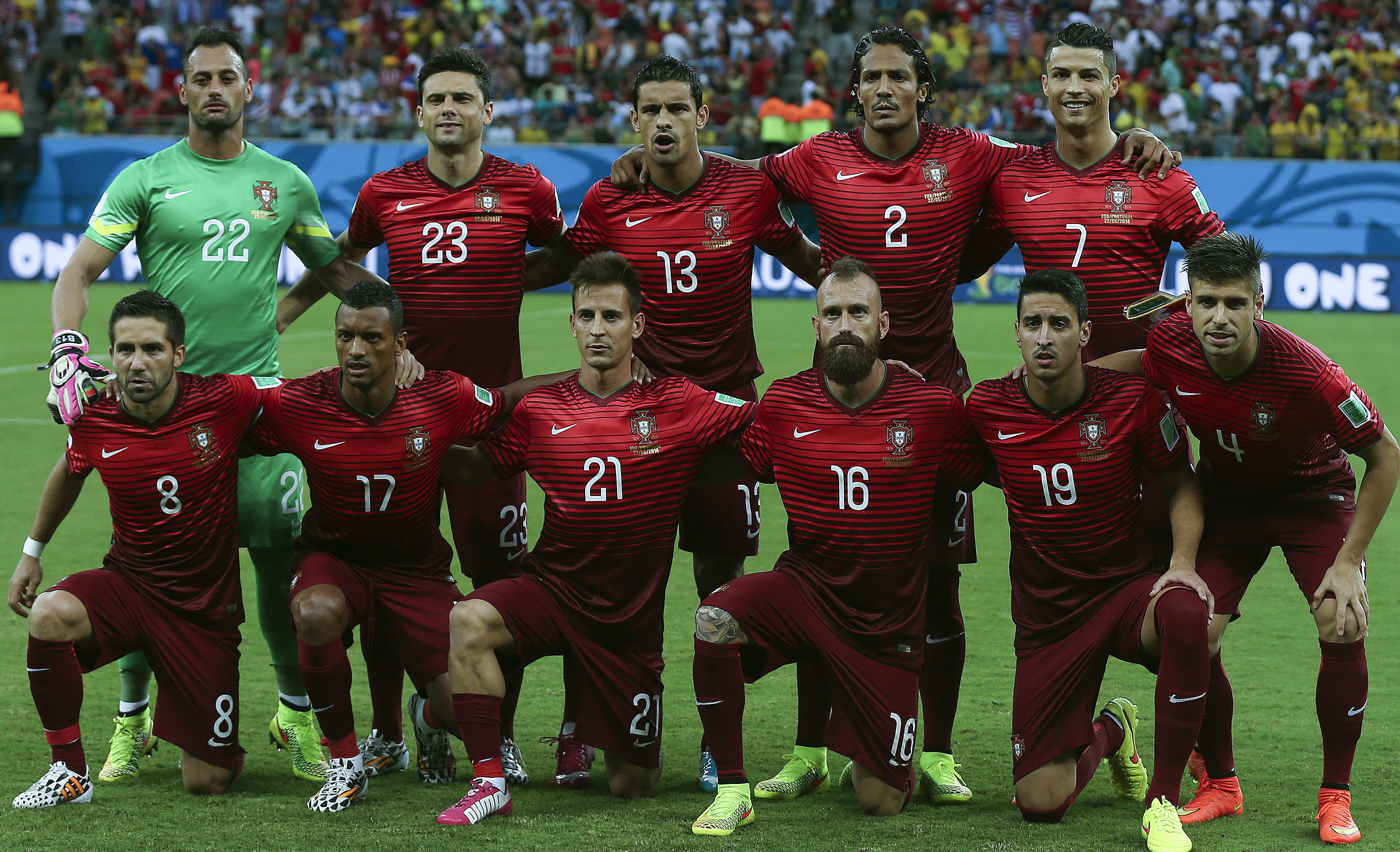 Soccer World Cup 2014: Portugal vs USA