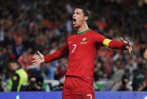 Cristiano Ronaldo, capitano della Nazionale Portoghe