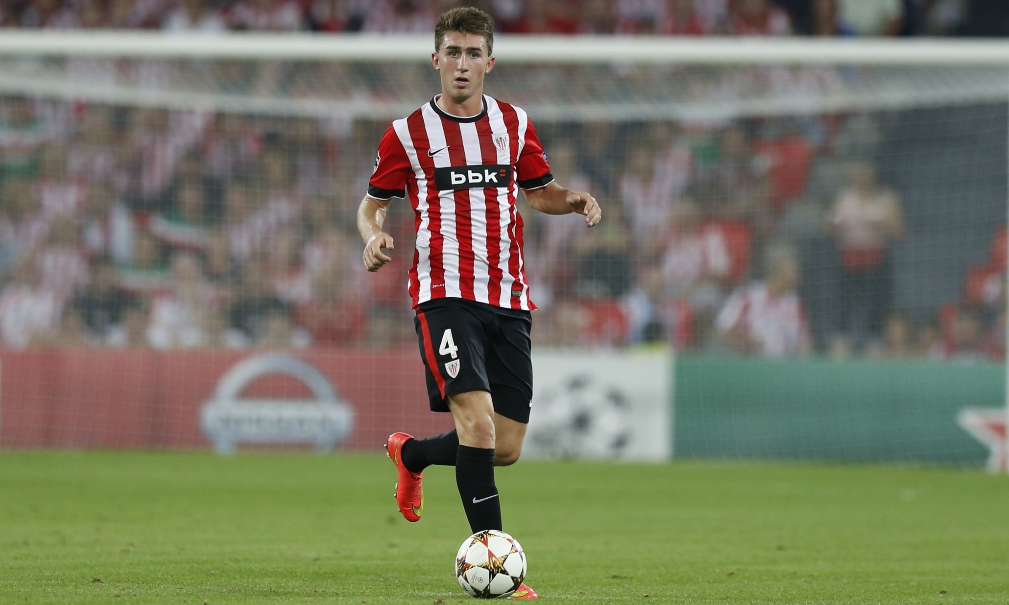 Athletic Bilbao v Napoli, UEFA Champions League qualifying second leg football match, Bilbao, Spain - 27 Aug 2014