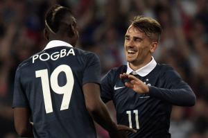 Paul Pogba e Antoine Griezmann, talenti della Nazionale francese