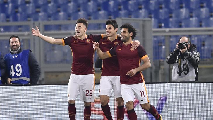Roma vs Fiorentina Campionato Italiano Serie A 2015-2016 28 giornata Roma - 04.03.2016