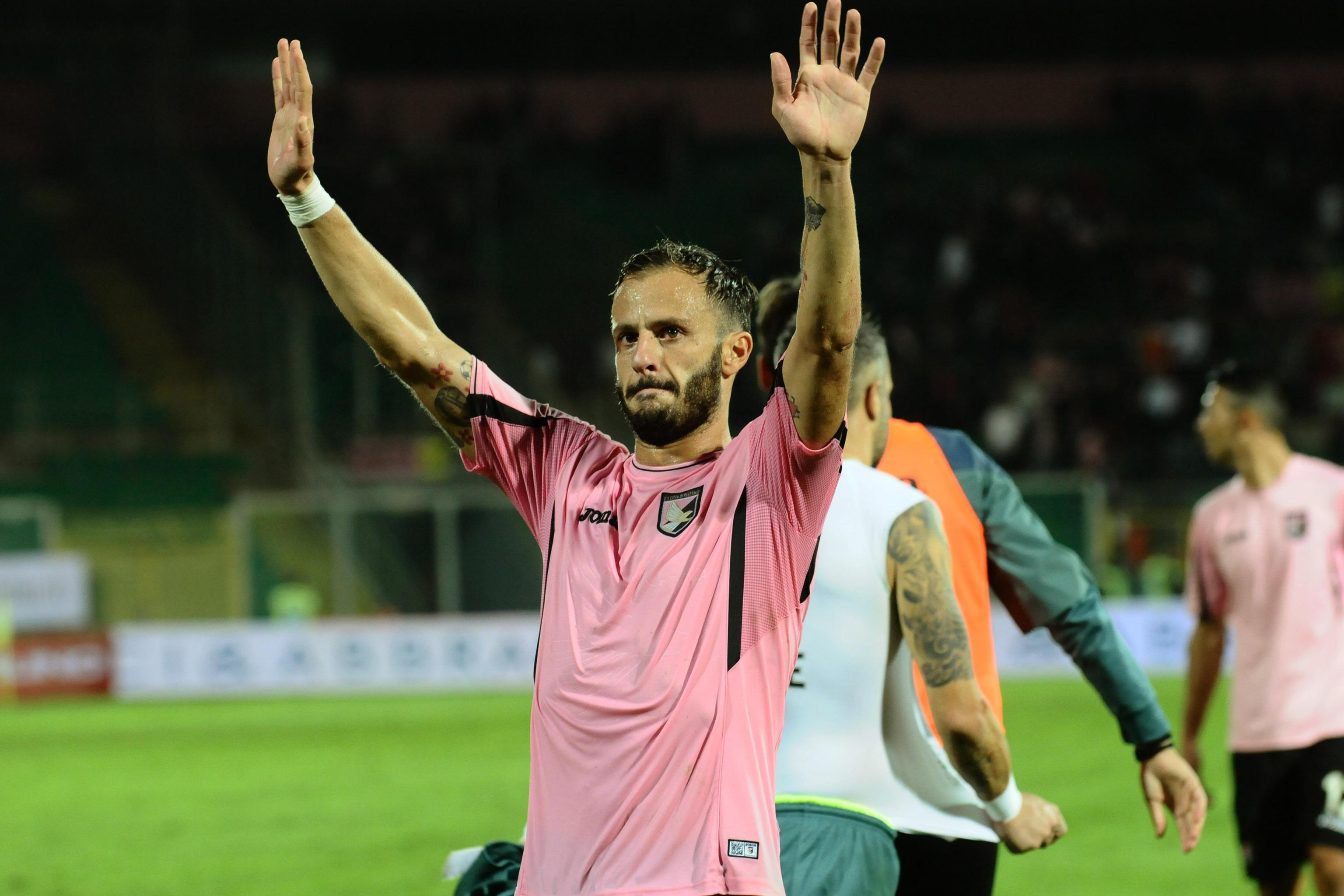 Soccer: Serie A; Palermo - Inter