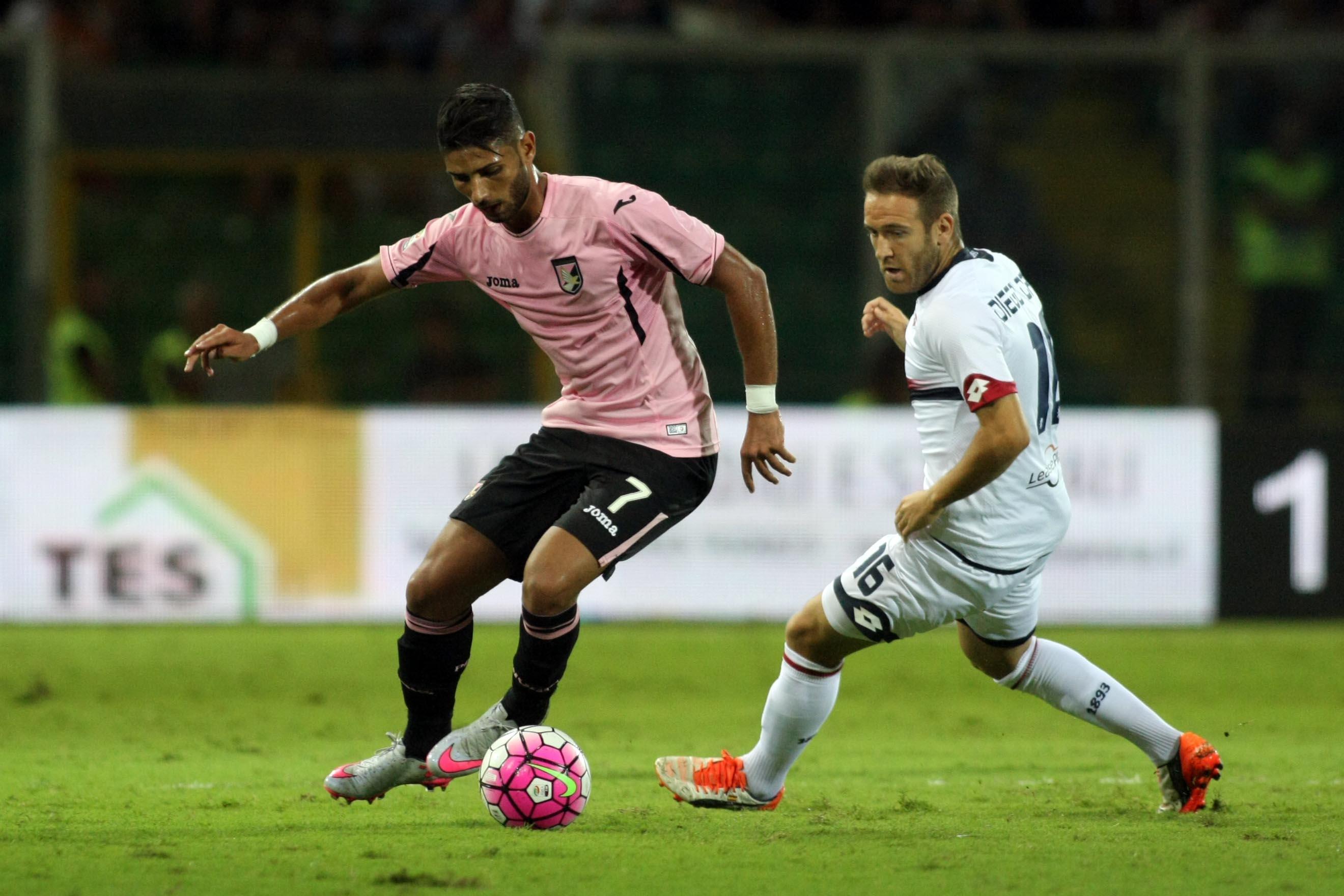 Soccer: Serie A; Palermo-Genoa