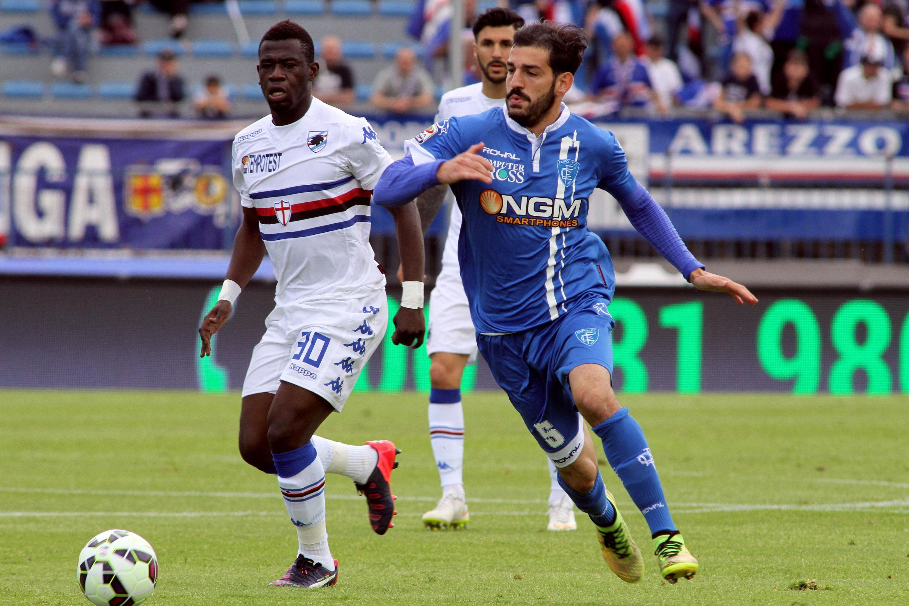Soccer: serie A, Empoli-Sampdoria